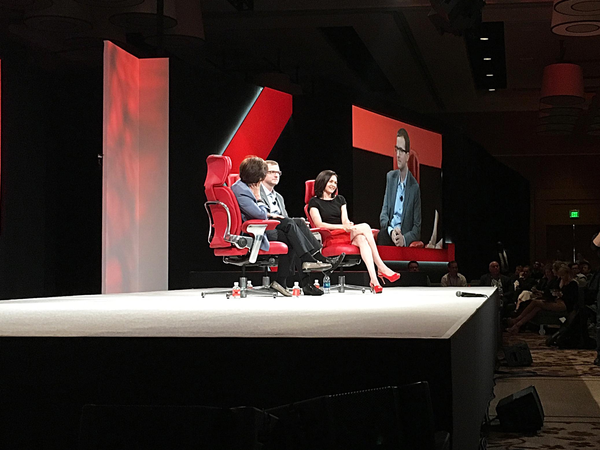 Sheryl Sandberg at 2016 Code Conference