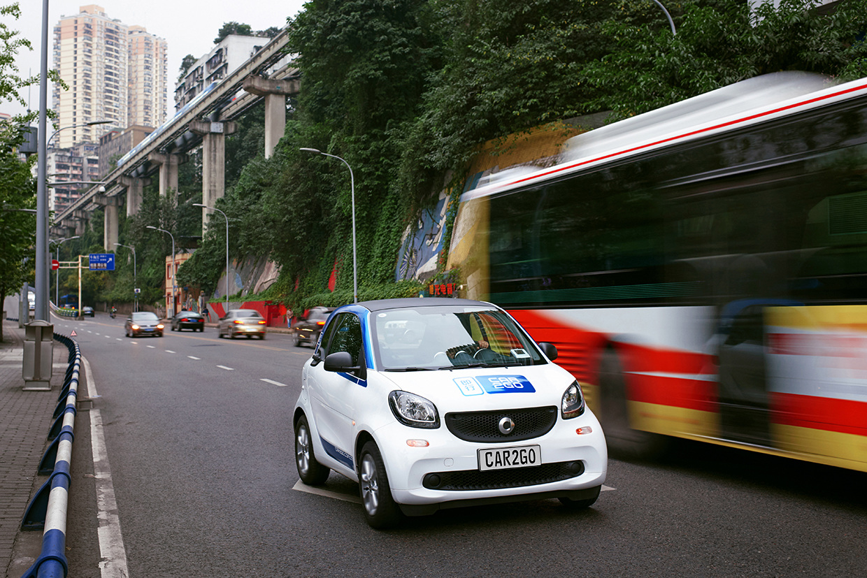 car2go hat 78.000 Kunden in China