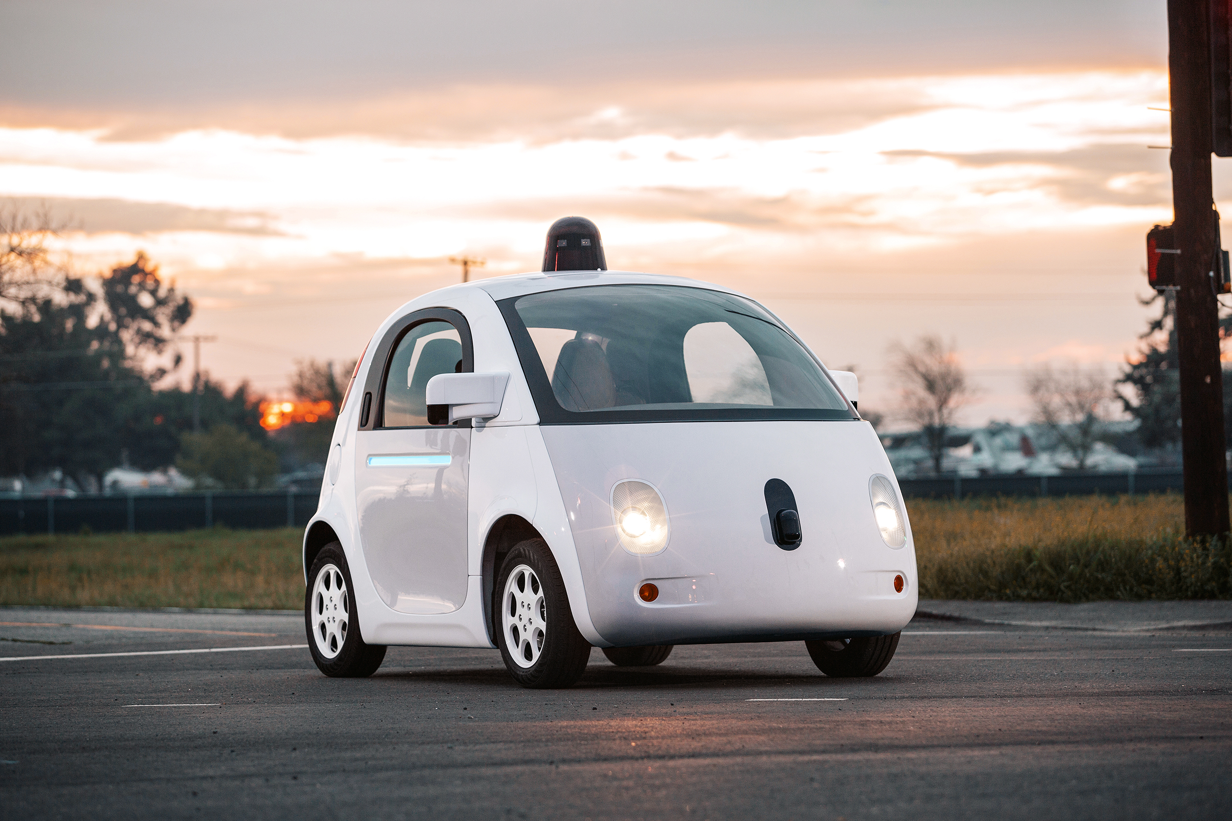 Google's first self-driving concept.