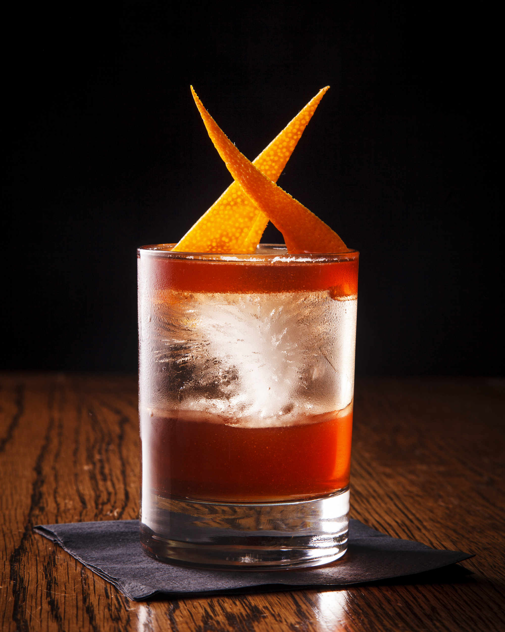 "Called the ""Kingston Negroni,"" this version of the drink is available at New York's Pouring Ribbons cocktail bar and uses rum instead of gin."