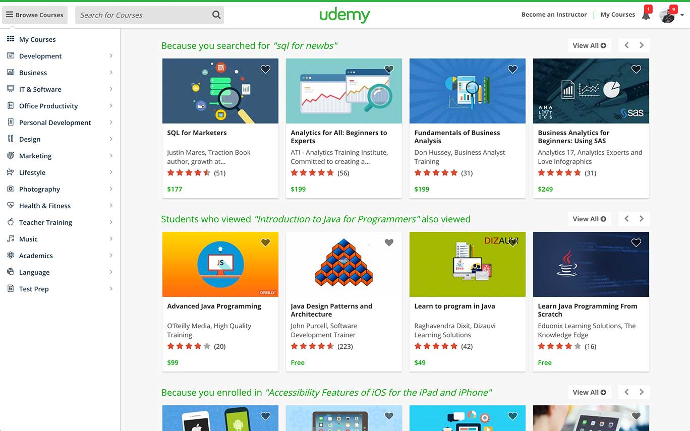 Udemy | Fortune