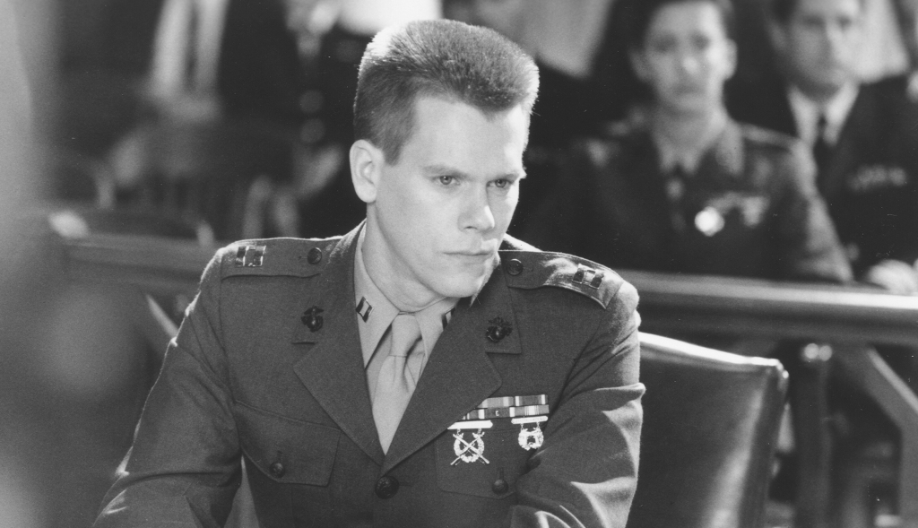 Few Good Men, A (1992)Directed by Rob ReinerShown: Kevin Bacon