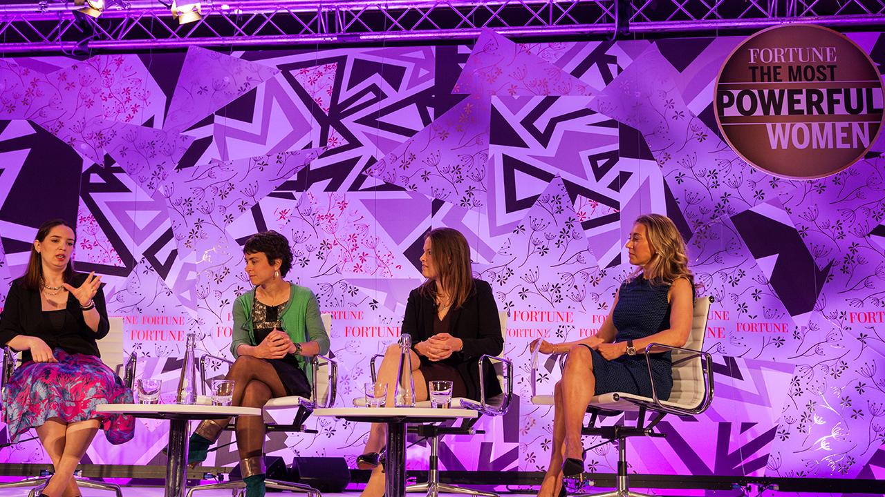 Seated, Maelle Gavet, Marie Ekeland, Jo Bertram and Juliet de Baubigny.