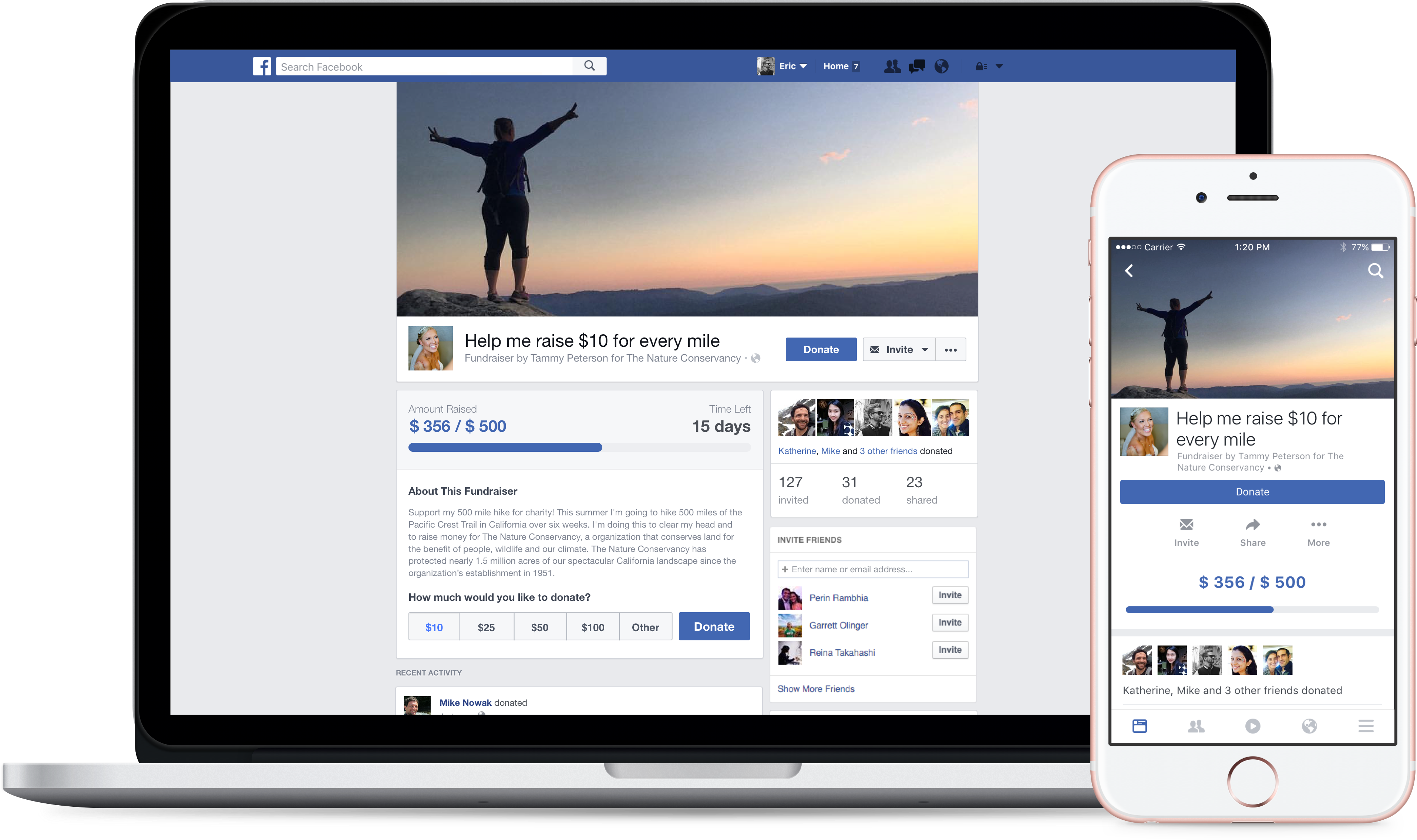 Facebook Just Made it Easier to Ask Friends for Charitable Donations