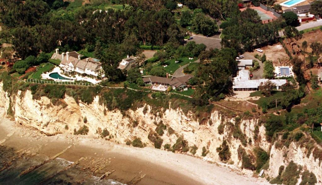 Barbara Streisand Malibu House