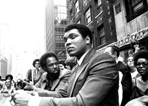 """Muhammad Ali In-Store Appearance for """"The Greatest"""" at Sam Goody in New York City - May 25, 1977"""