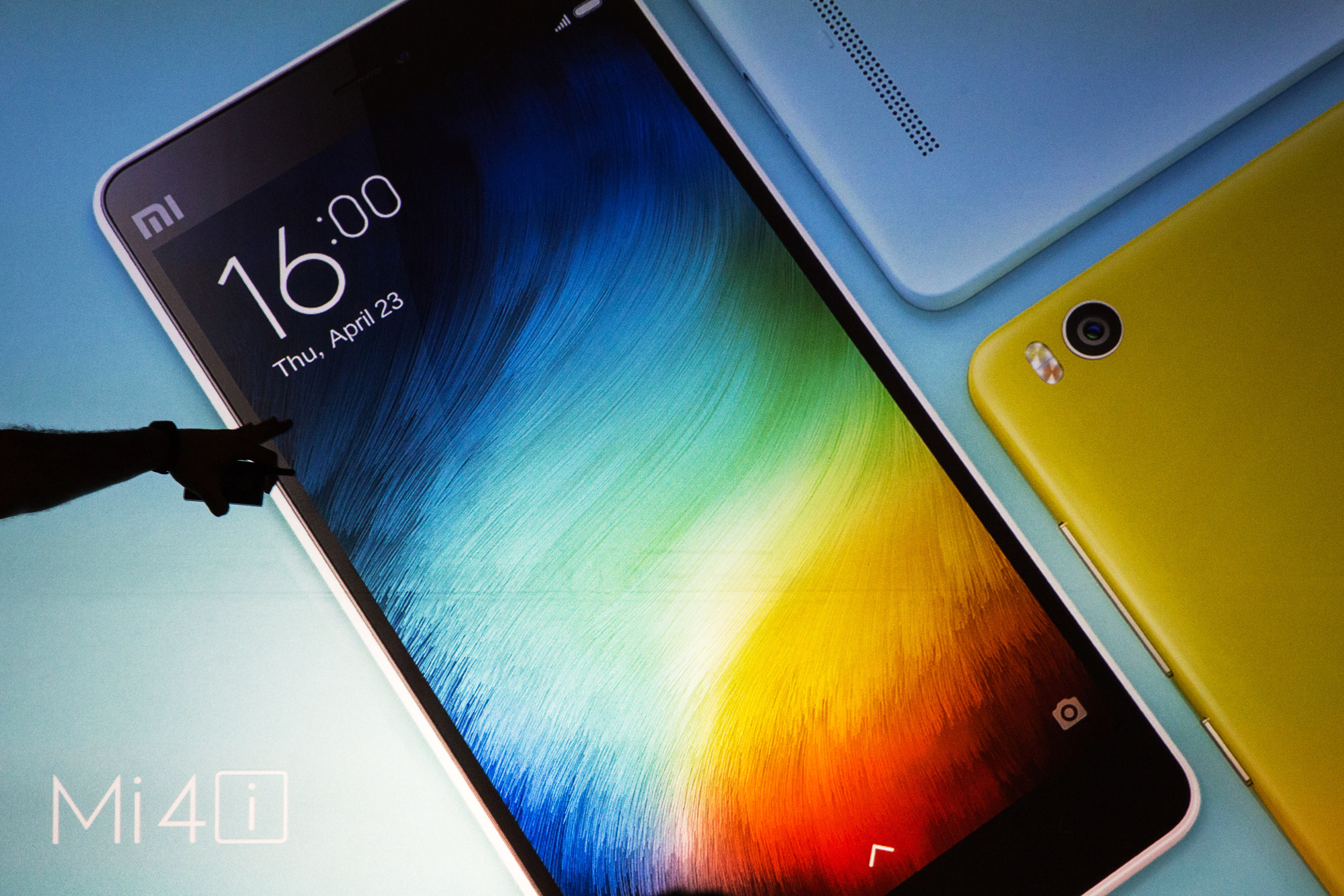 Xiaomi Corp. Vice President of Global Operations Hugo Barra Launches The Mi 4i Smartphone