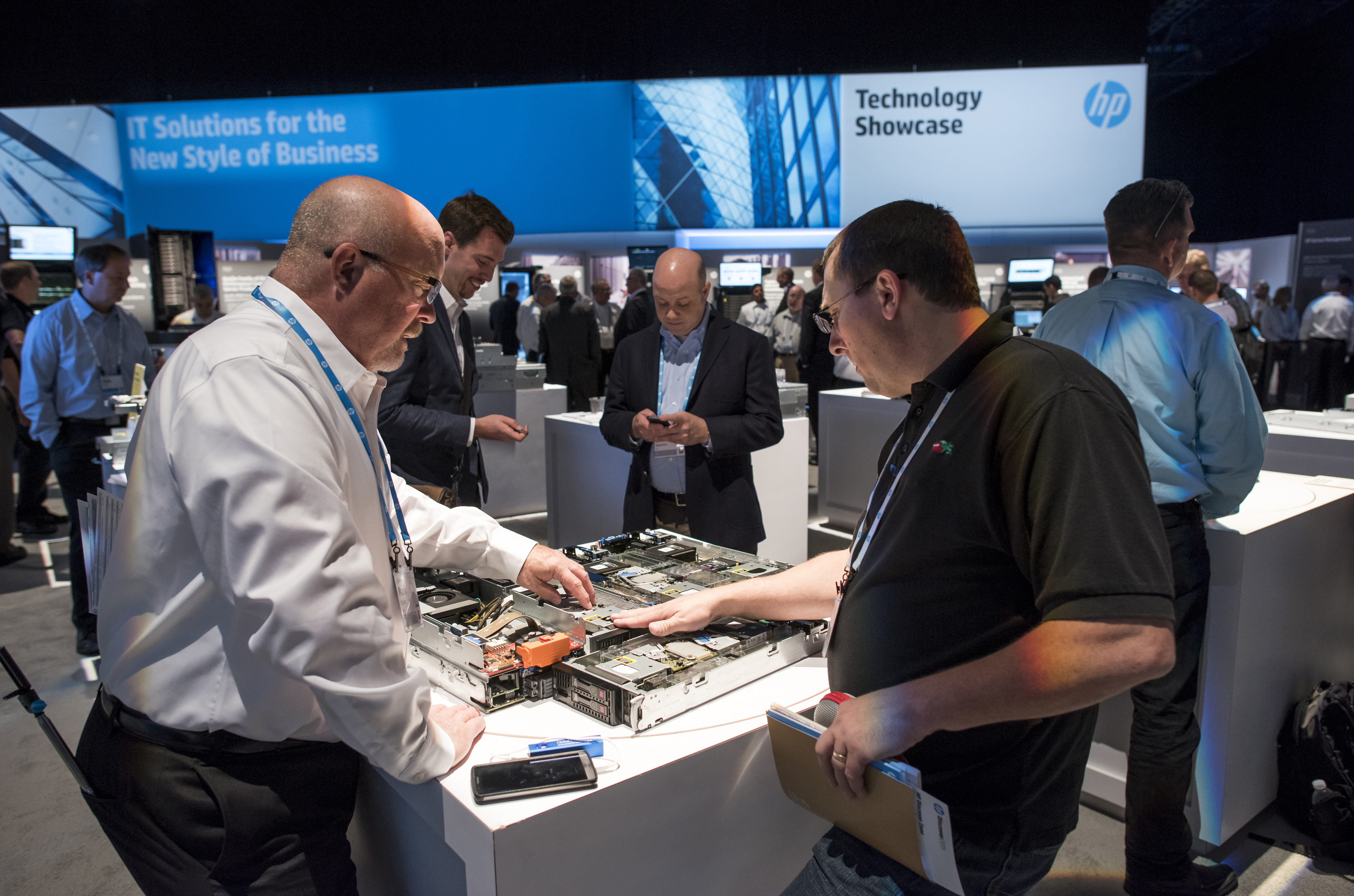 Inside The HP Discover 2015 Conference