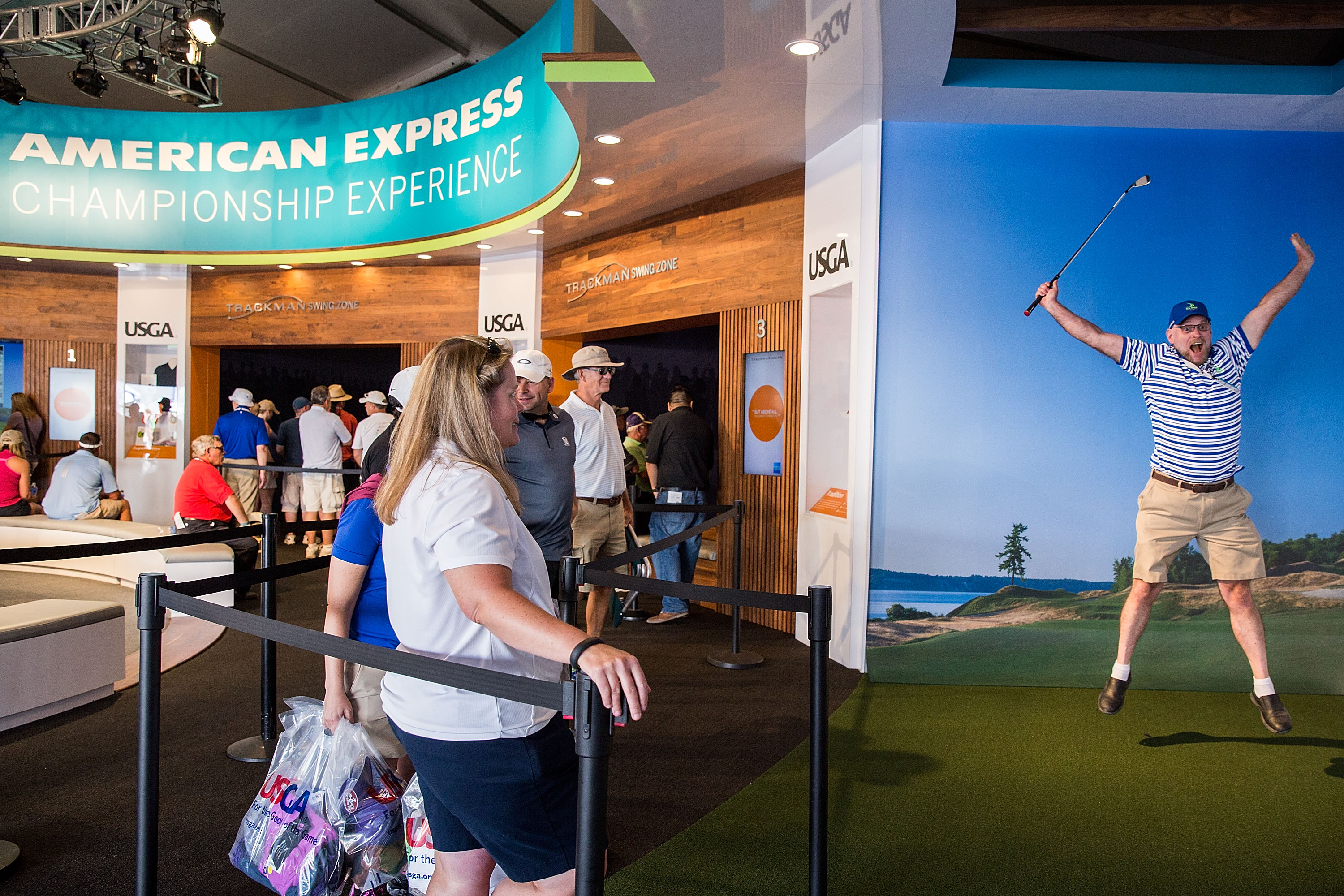 The American Express Championship Experience At The 2015 U.S. Open Chambers Bay Golf Course With Dr. Bob Rotella And Dr. Gio Valiante