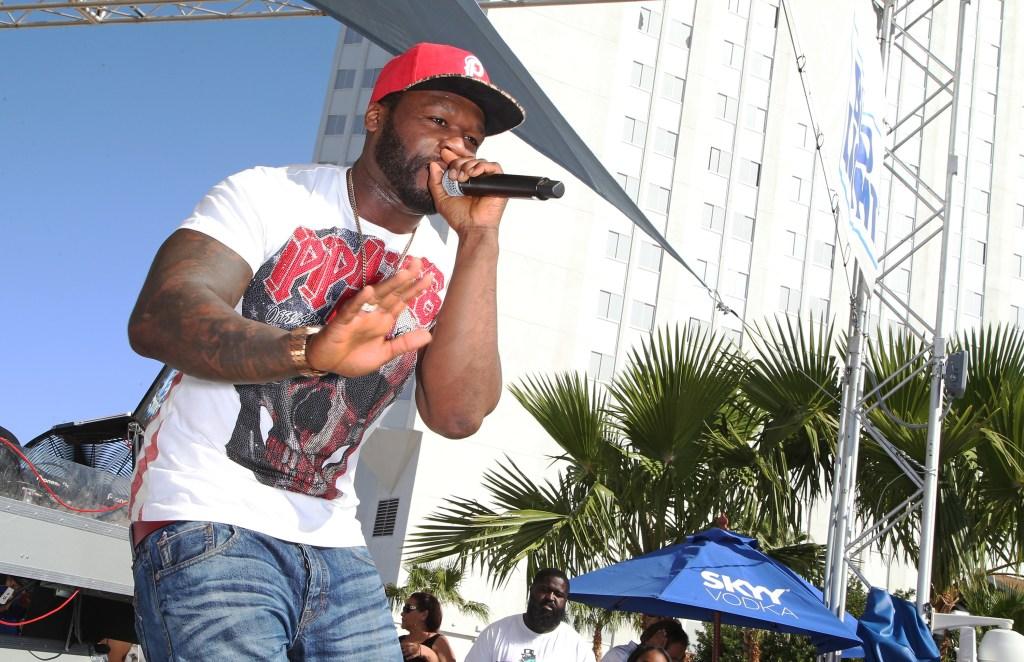 50 Cent At Sky Beach Club
