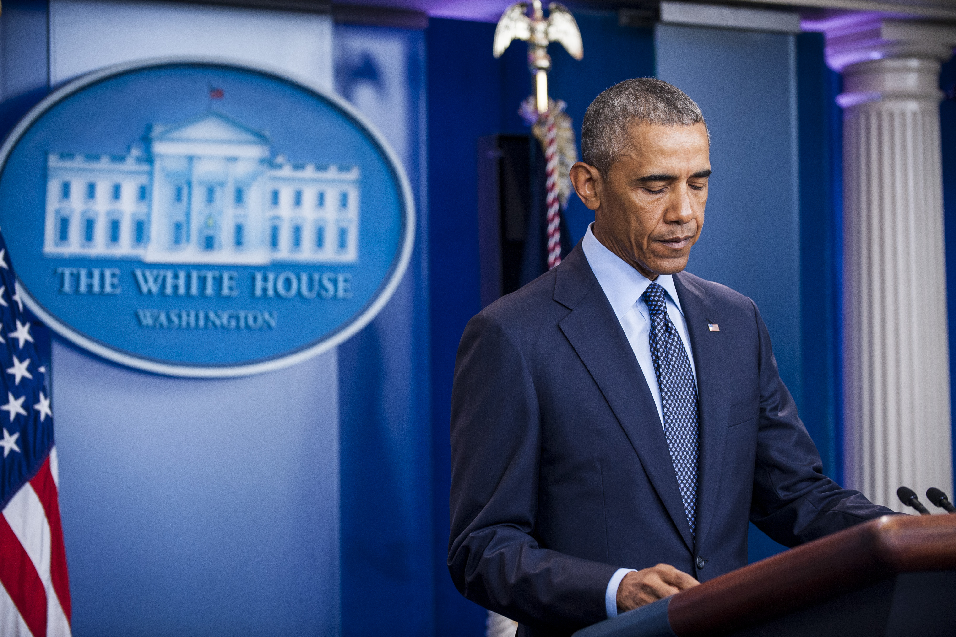President Barack Obama Makes Statement On Deadliest Mass Shooting in U.S. History