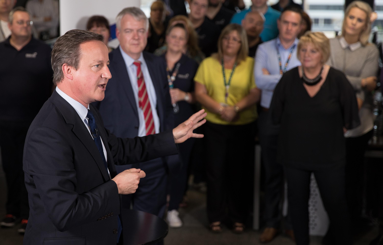 David Cameron Holds A Q&A Session Ahead Of The EU Referendum