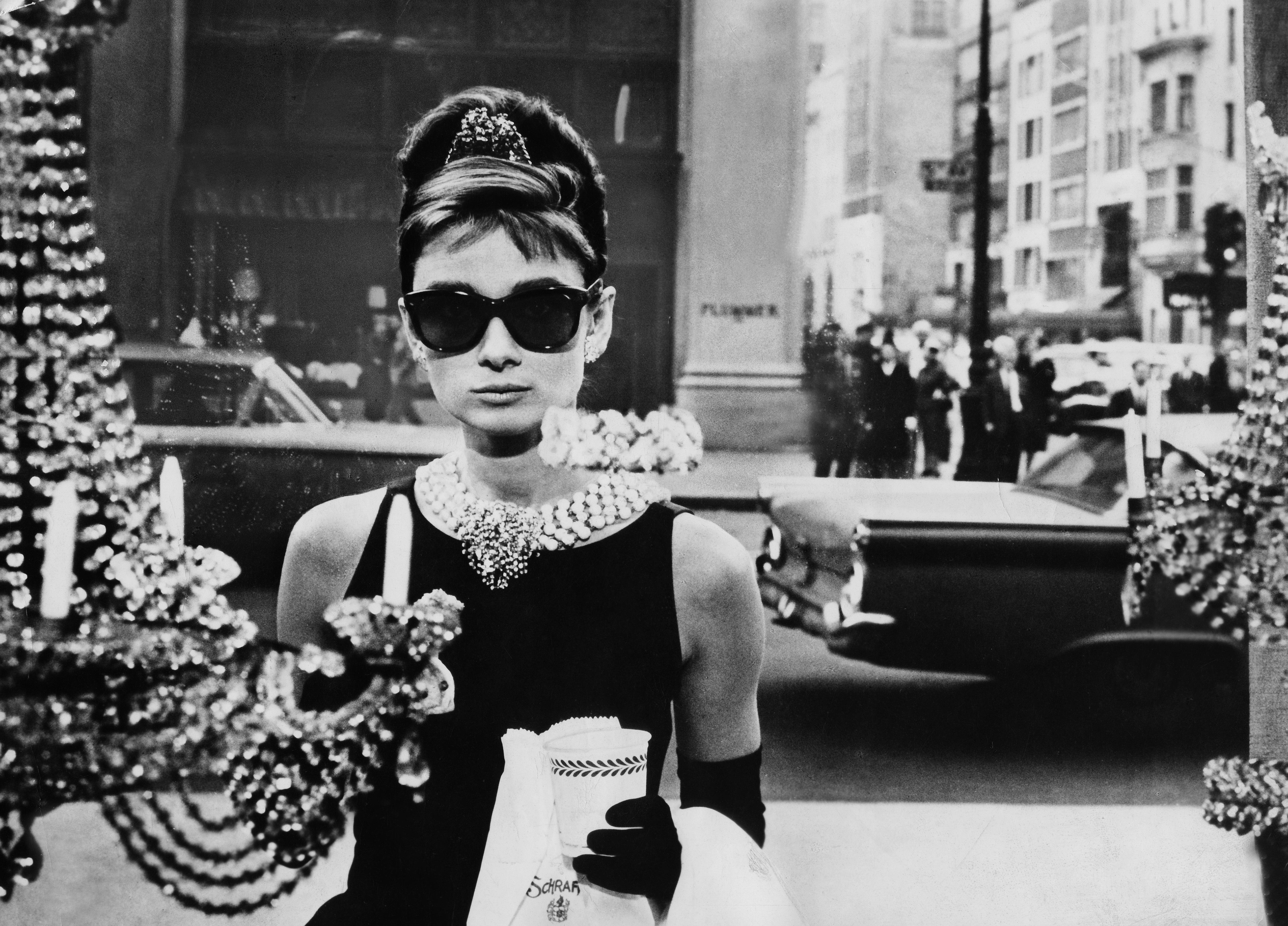 Hepburn, Audrey - Schauspielerin, in dem Film 'Fruehstueck bei Tiffany'