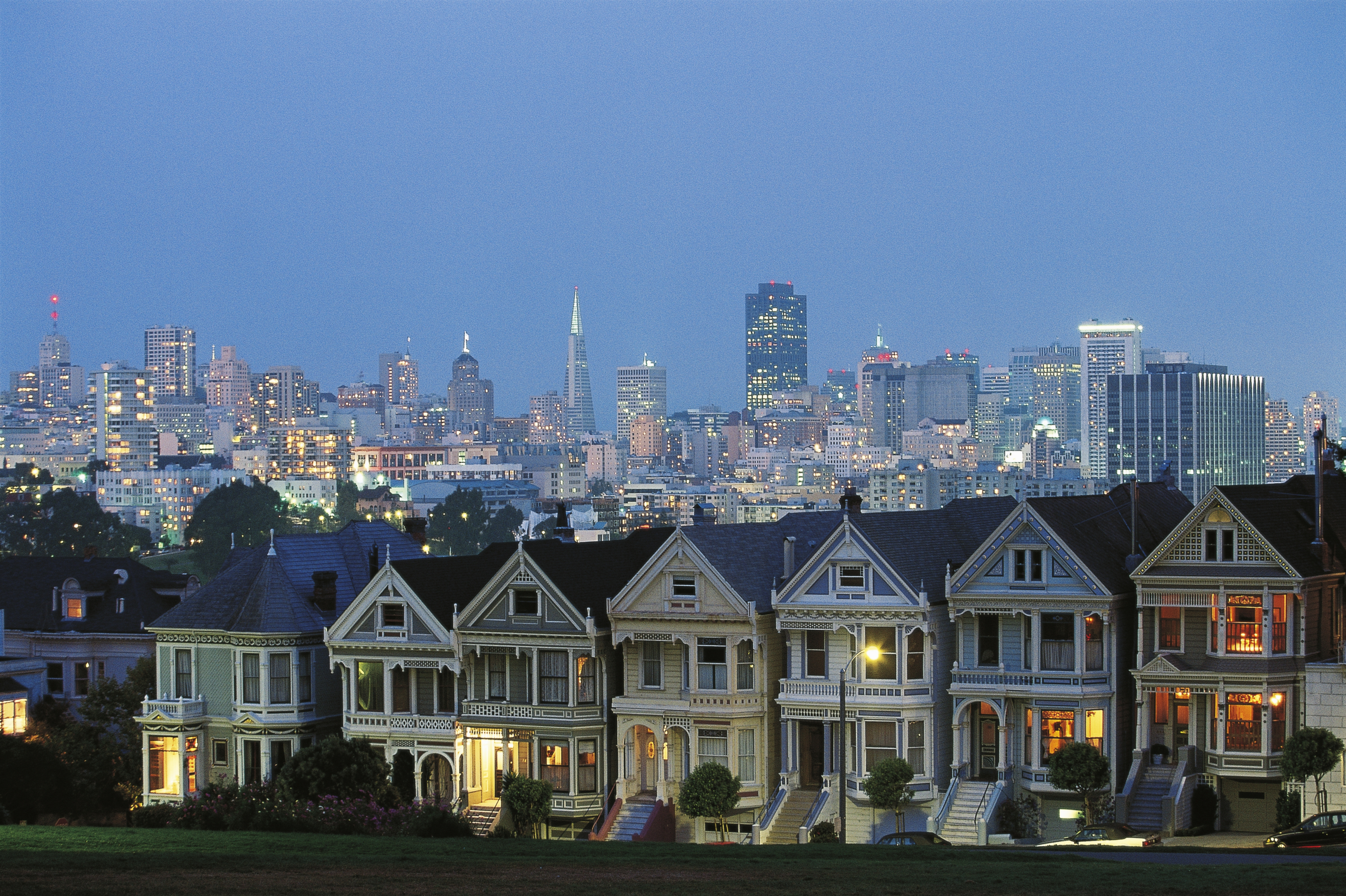 The Painted Ladies, houses, San Francisco