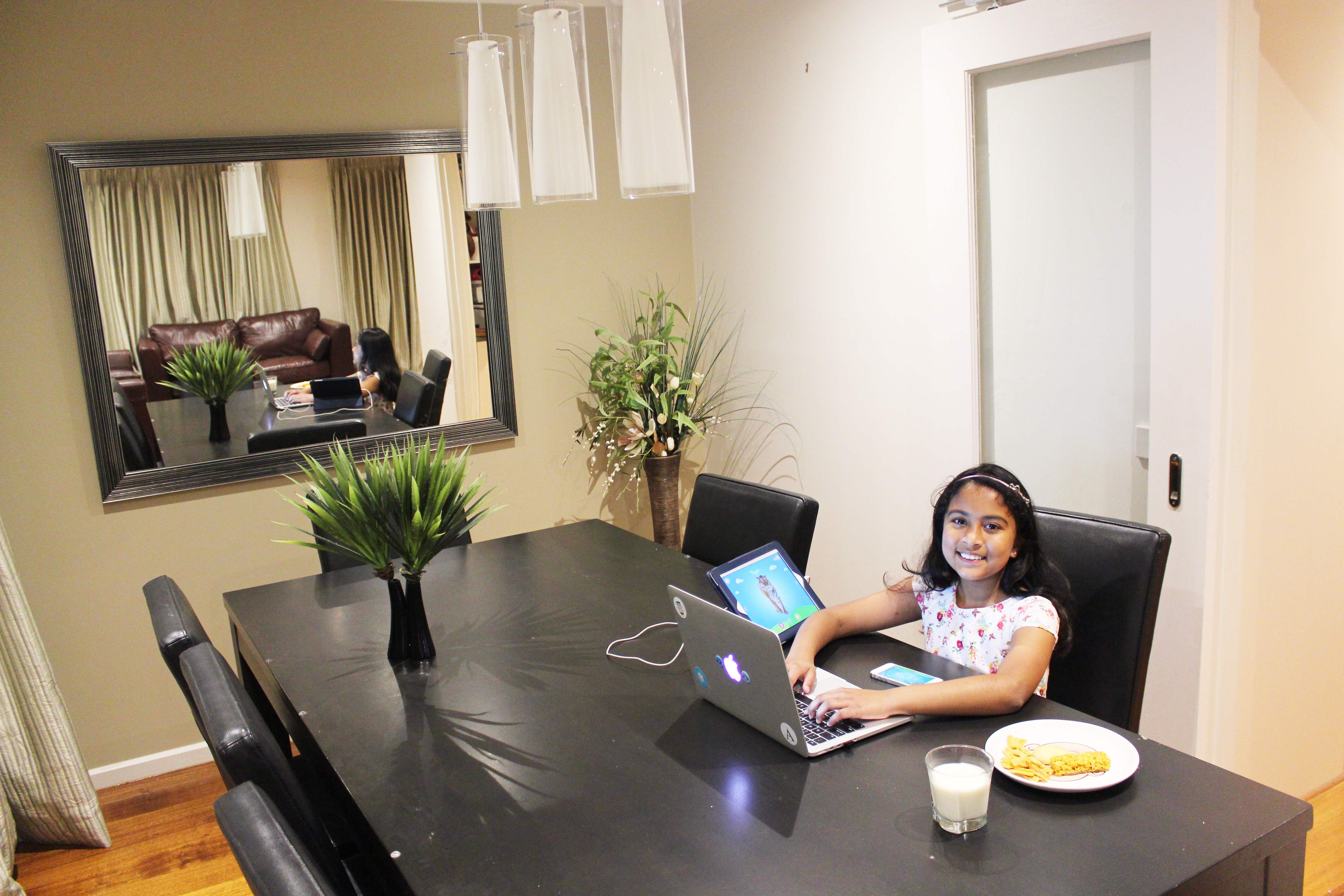 Nine-year-old Anvitha Vijay, who will be Apple's WWDC's youngest attendee.
