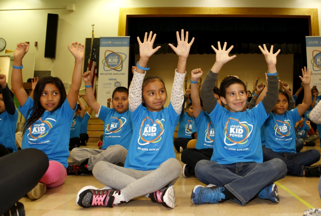 """UNICEF Kid Power Los Angeles Celebrates Impact Of Local Kids Getting Active And Saving Lives"""