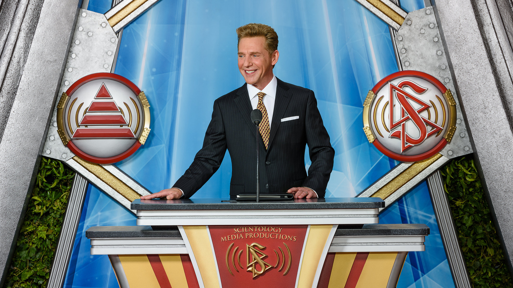 David Miscavige, the leader of the Church of Scientology.
