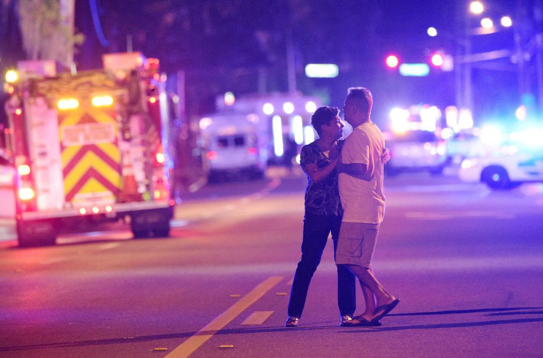 APTOPIX Nightclub Shooting Florida