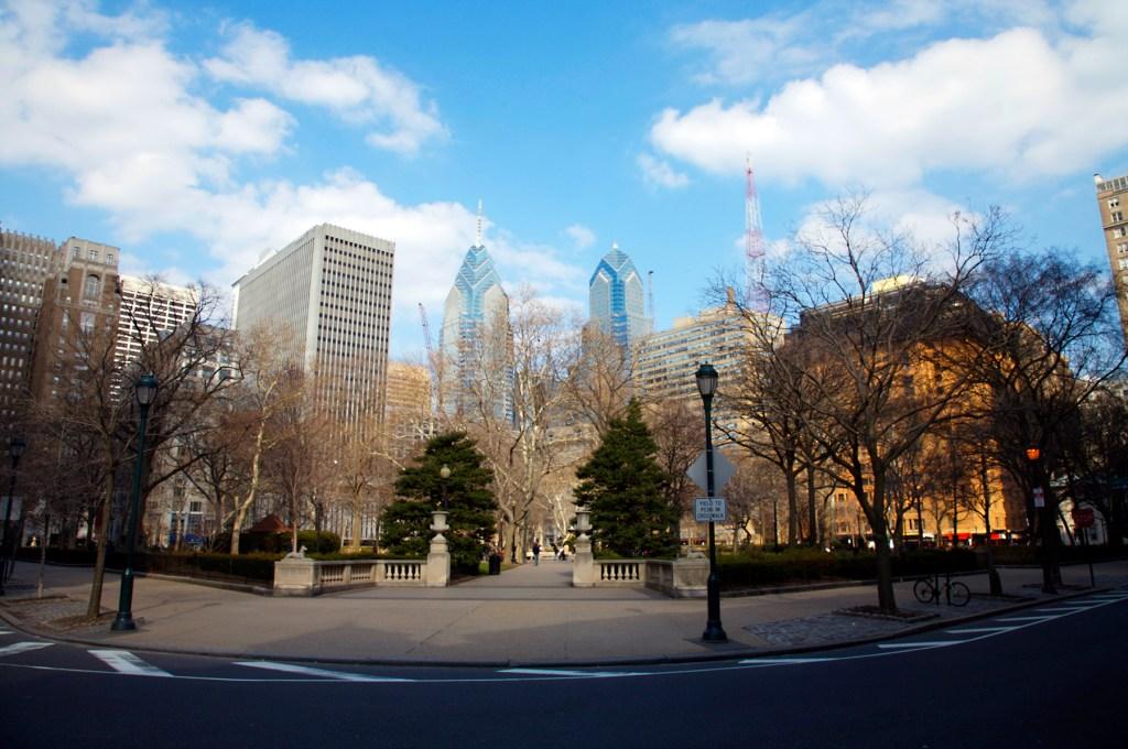 Rittenhouse Square Philadelphia Pennsylvania