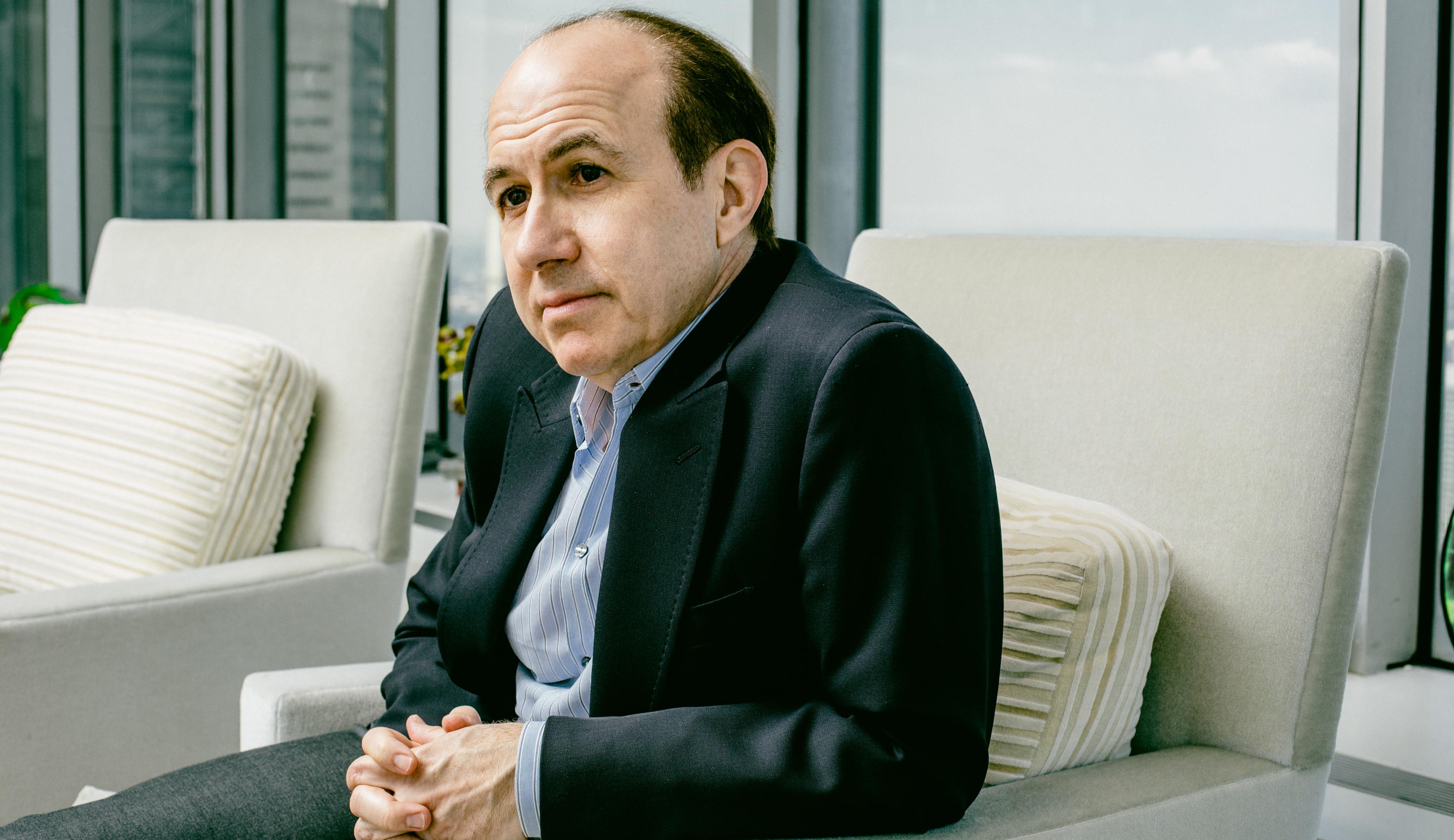 Dauman at Viacom offices on June 17, 2016.