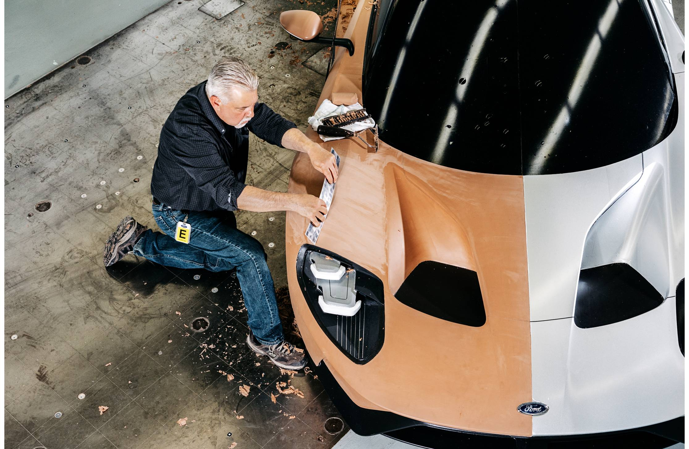 James Dunham, 59, Master Clay Modeler, Ford, No. 9