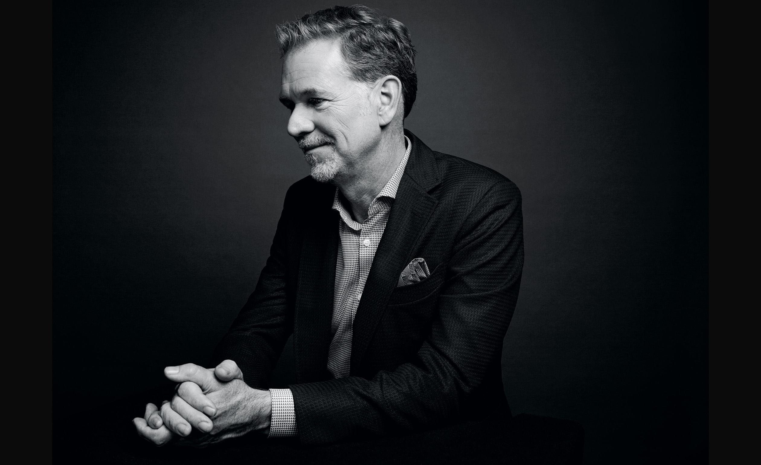 Netflix founder and CEO, Reed Hastings