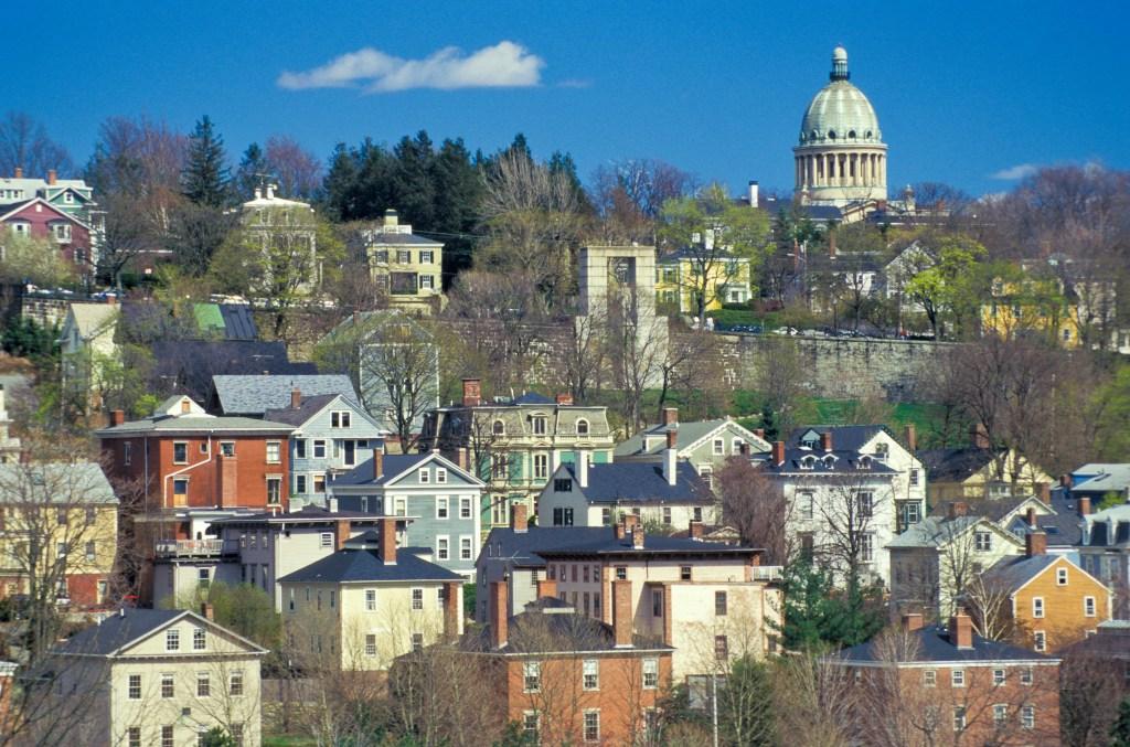 Rhode Island, Providence, Historic East Side Neighborhood