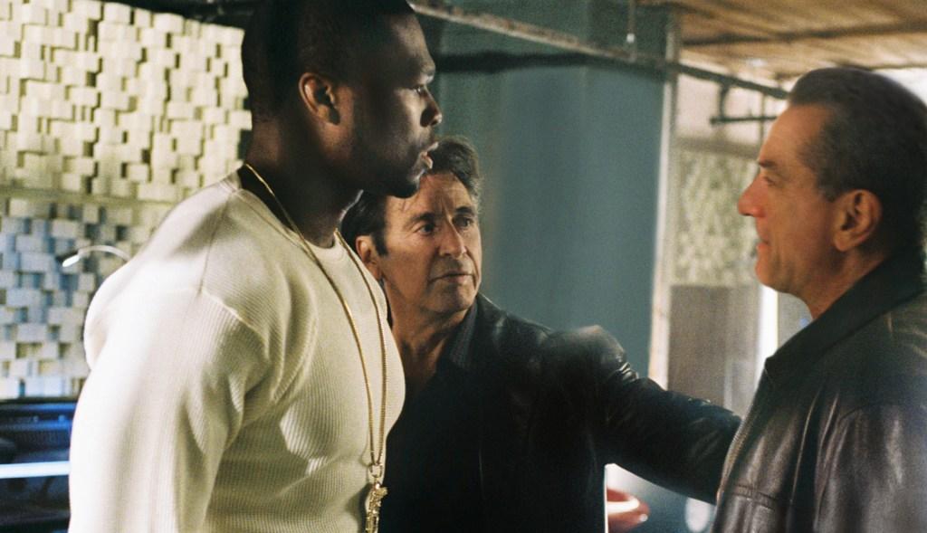 "Righteous Kill (2008)Directed by Jon AvnetShown from left: Curtis ""50 Cent"" Jackson, Al Pacino, Robert De Niro"
