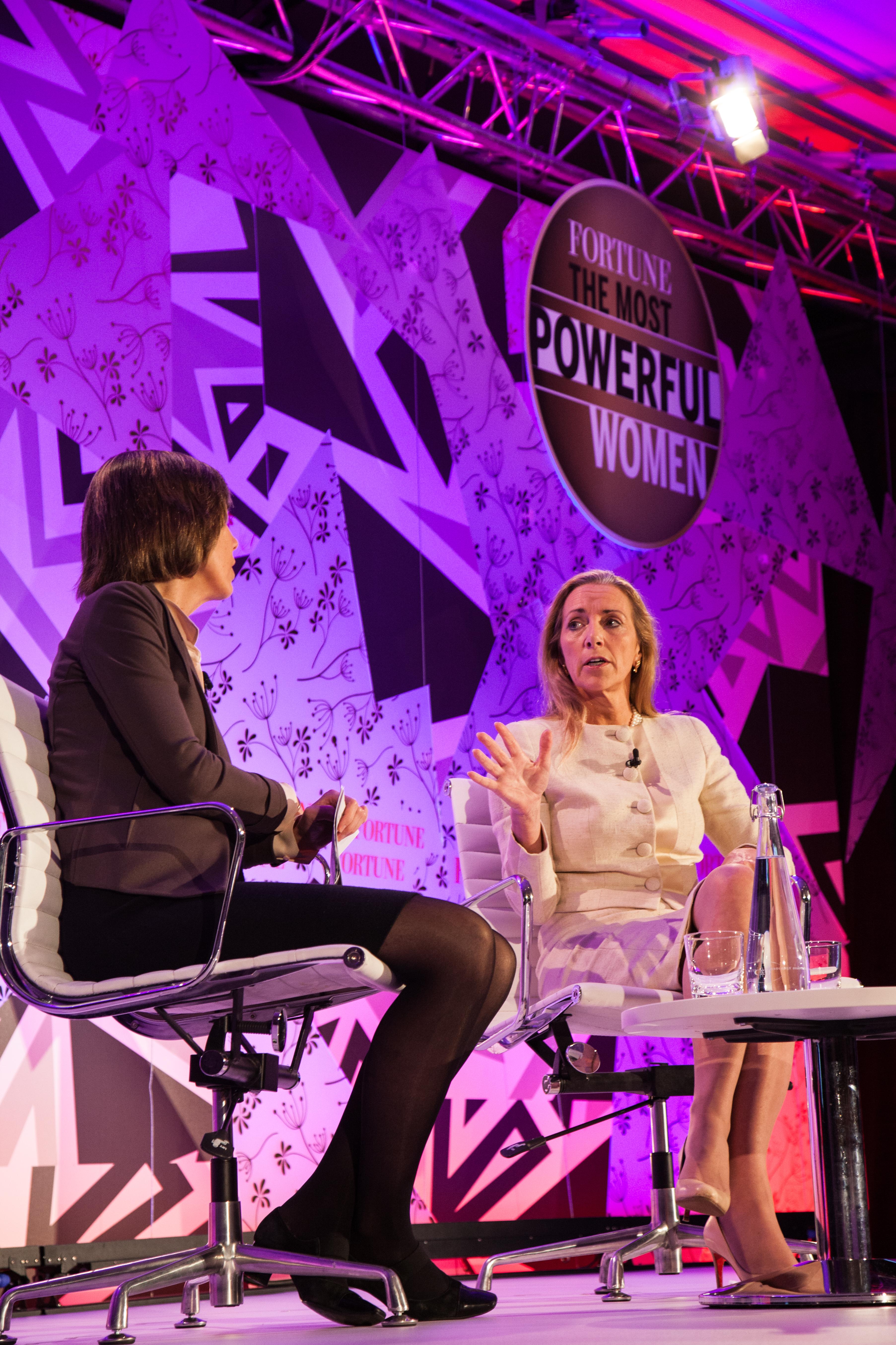 Rona Fairhead, chairman of the BBC Trust, talks to Fortune's Pattie Sellers.