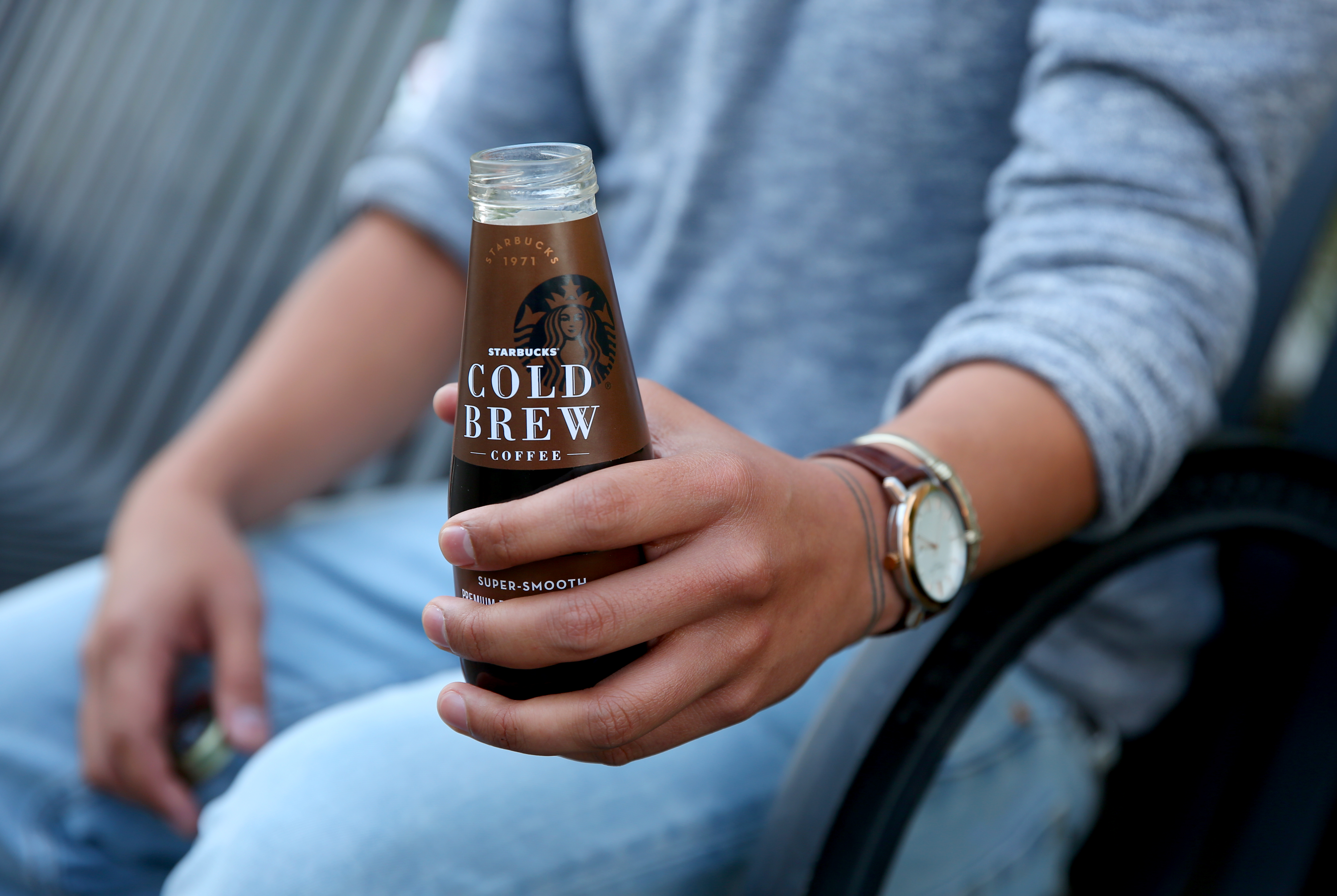 Starbucks ready to drink (RTD) Cold Brew photographed on Wednesday, May 25, 2016. (Joshua Trujillo, Starbucks)