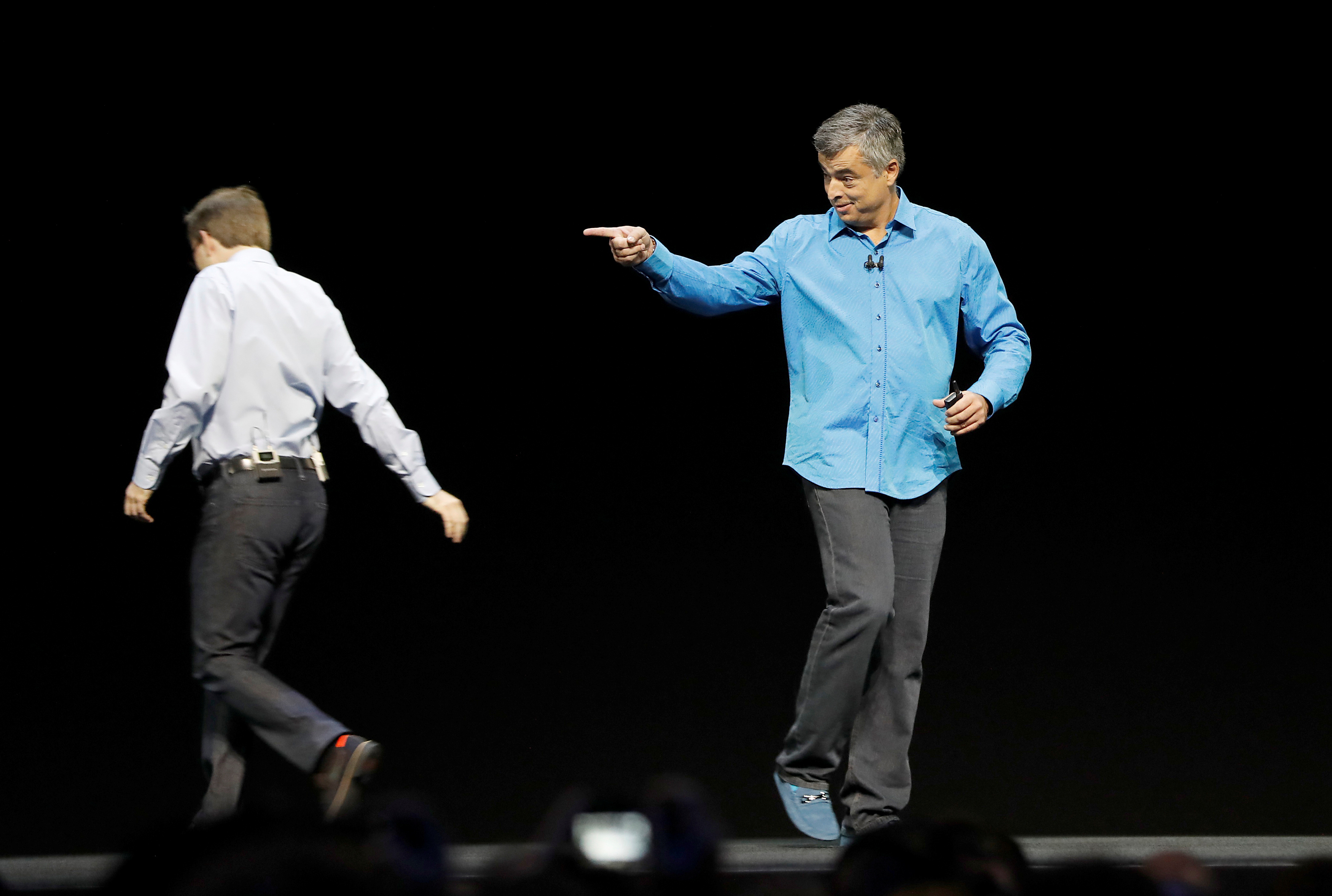 Eddy Cue takes the stage to discuss Apple tvOS at the company's World Wide Developers Conference in San Francisco, California