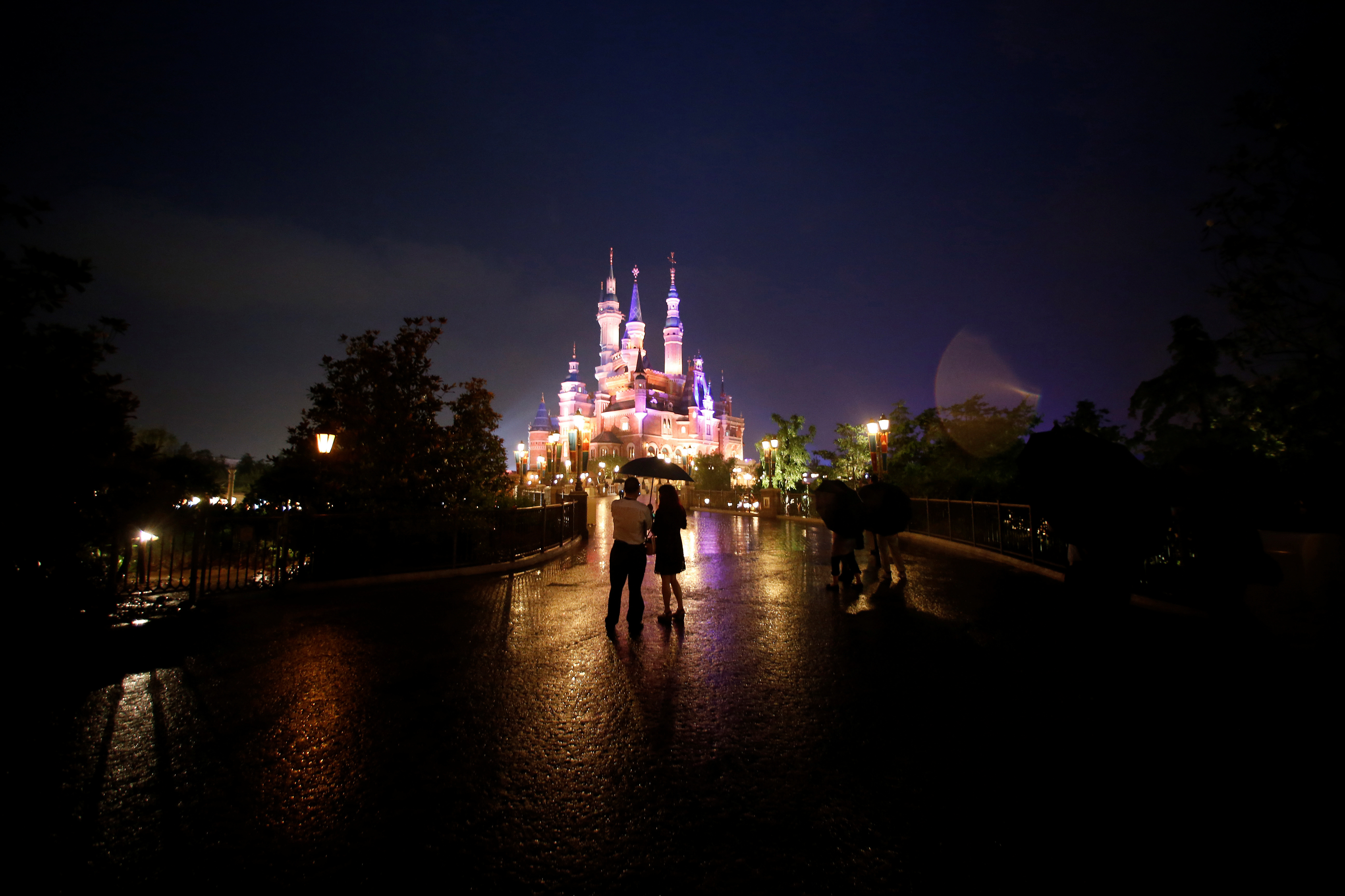 People visit Shanghai Disney Resort as part of the three-day Grand Opening events in Shanghai