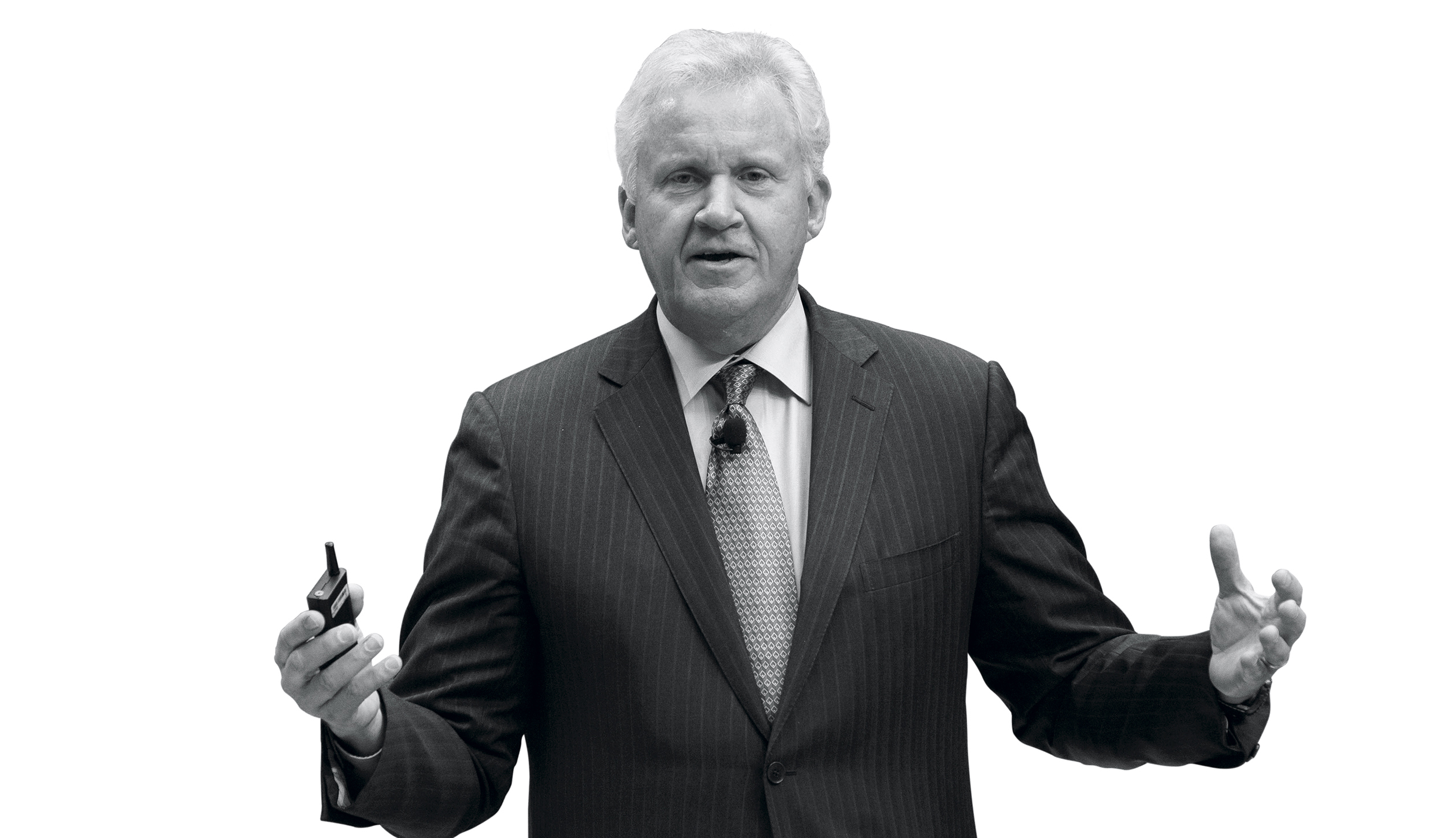 General Electric Co. Chief Executive Officer Jeffrey Immelt And Statoil ASA Chief Executive Officer Eldar Saetre Speak At Ecomagination Forum