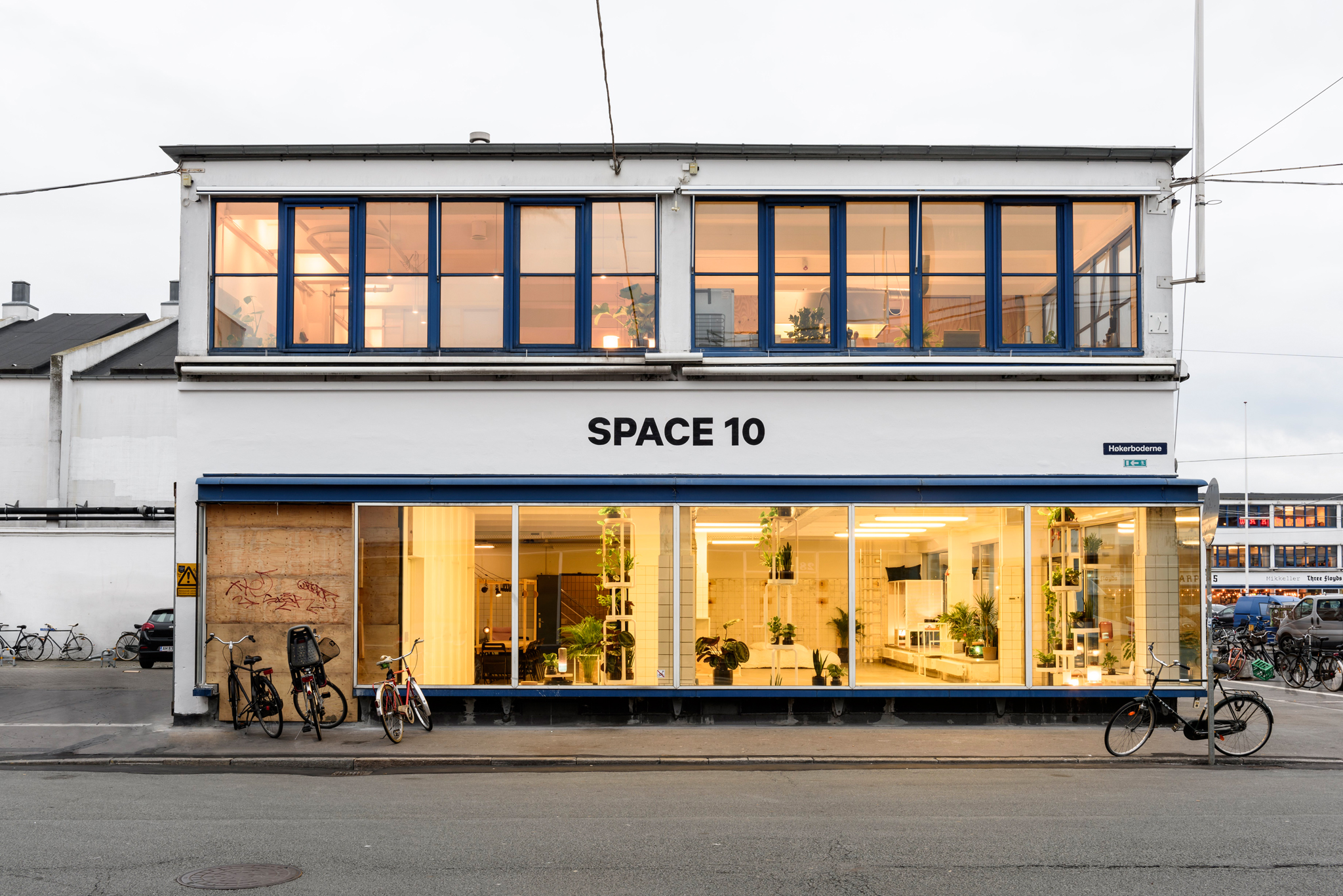 Space10 future-living lab and exhibition space in Copenhagen