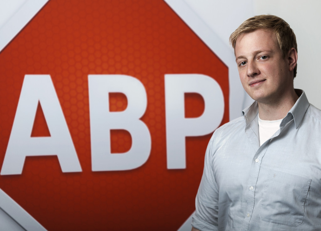 Adblock Plus co-founder Till Faida.