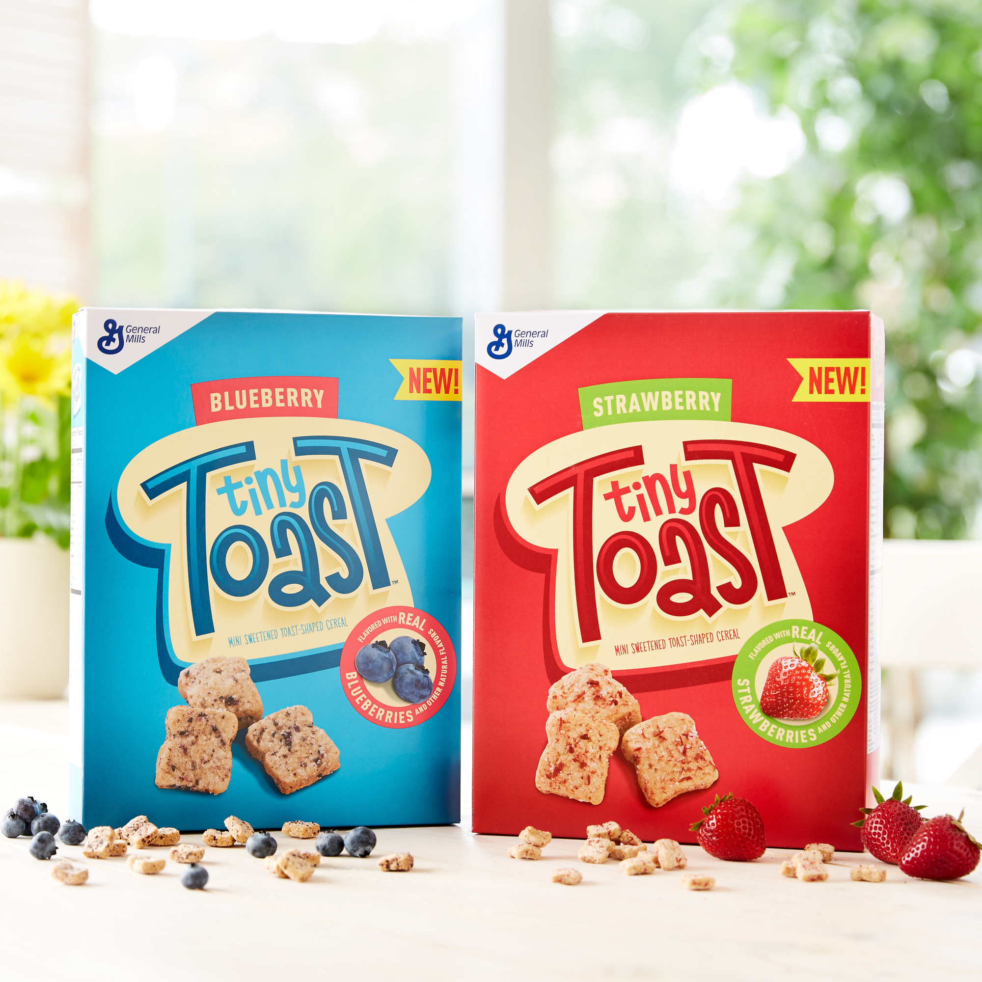 General Mills' Tiny Toast cereal.