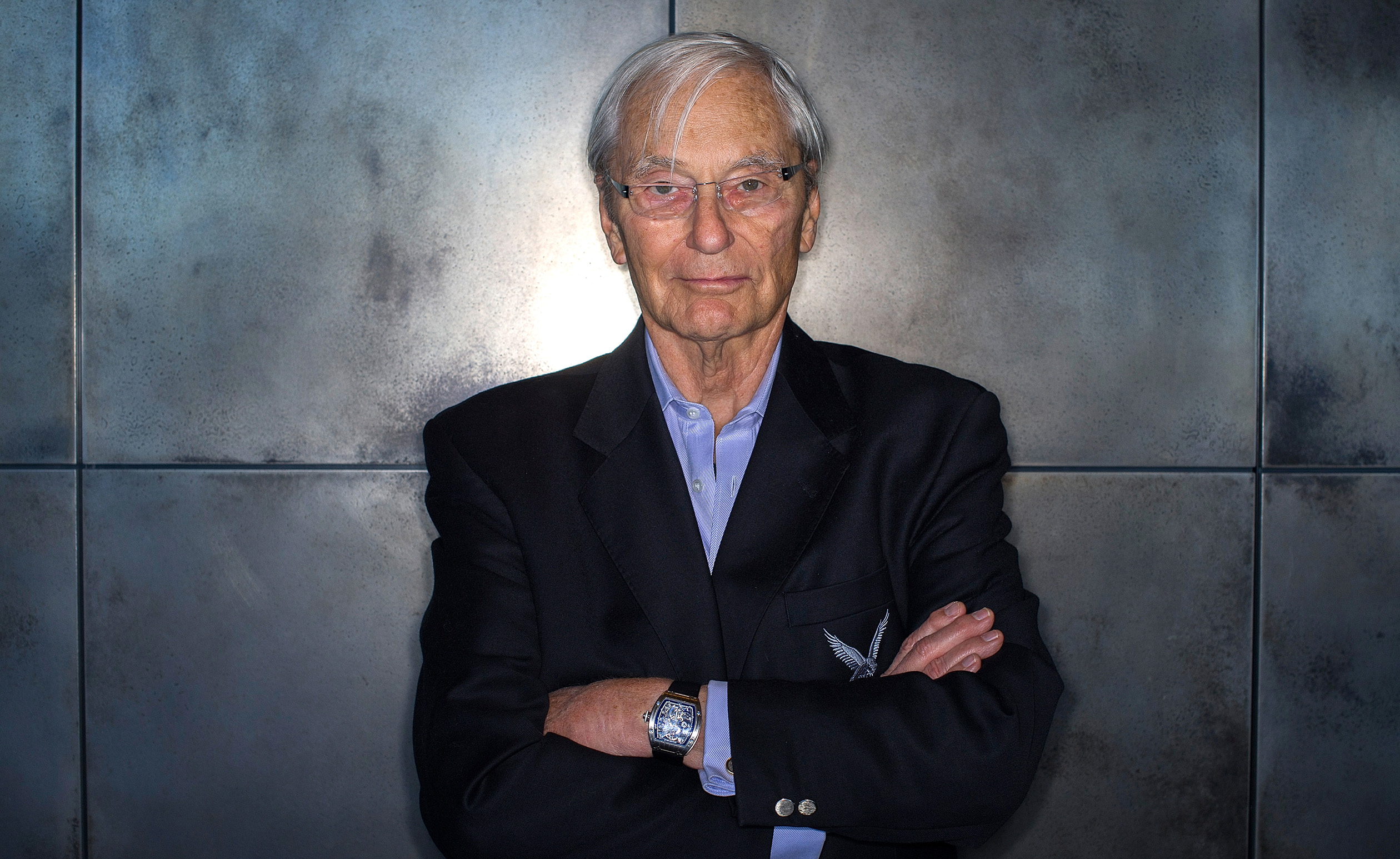 Kleiner Perkins Caufield & Byers Co-Founder Tom Perkins Portraits