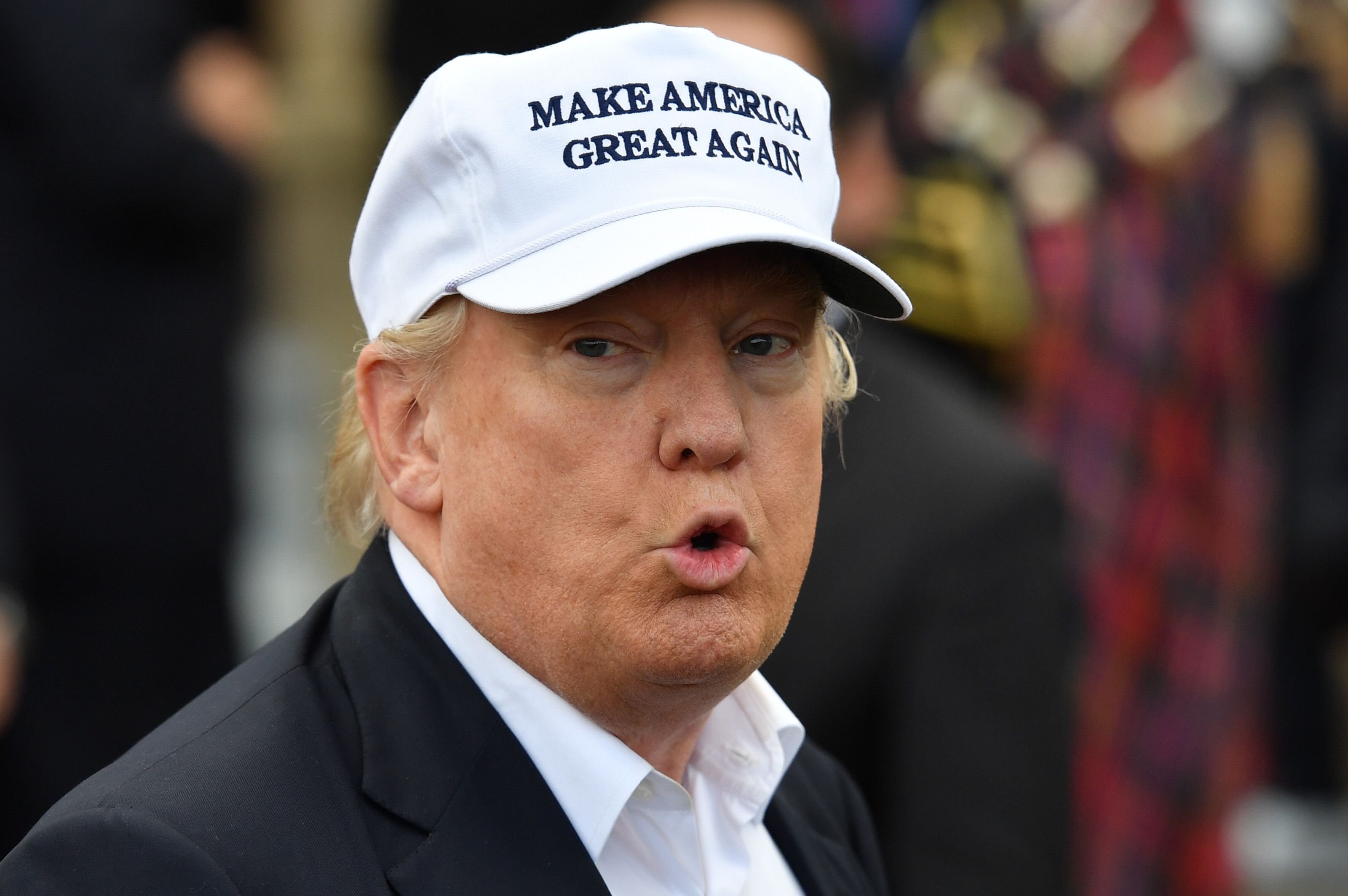 Trump's 'Make America Great Again' Hats May Not Be Made in America ...