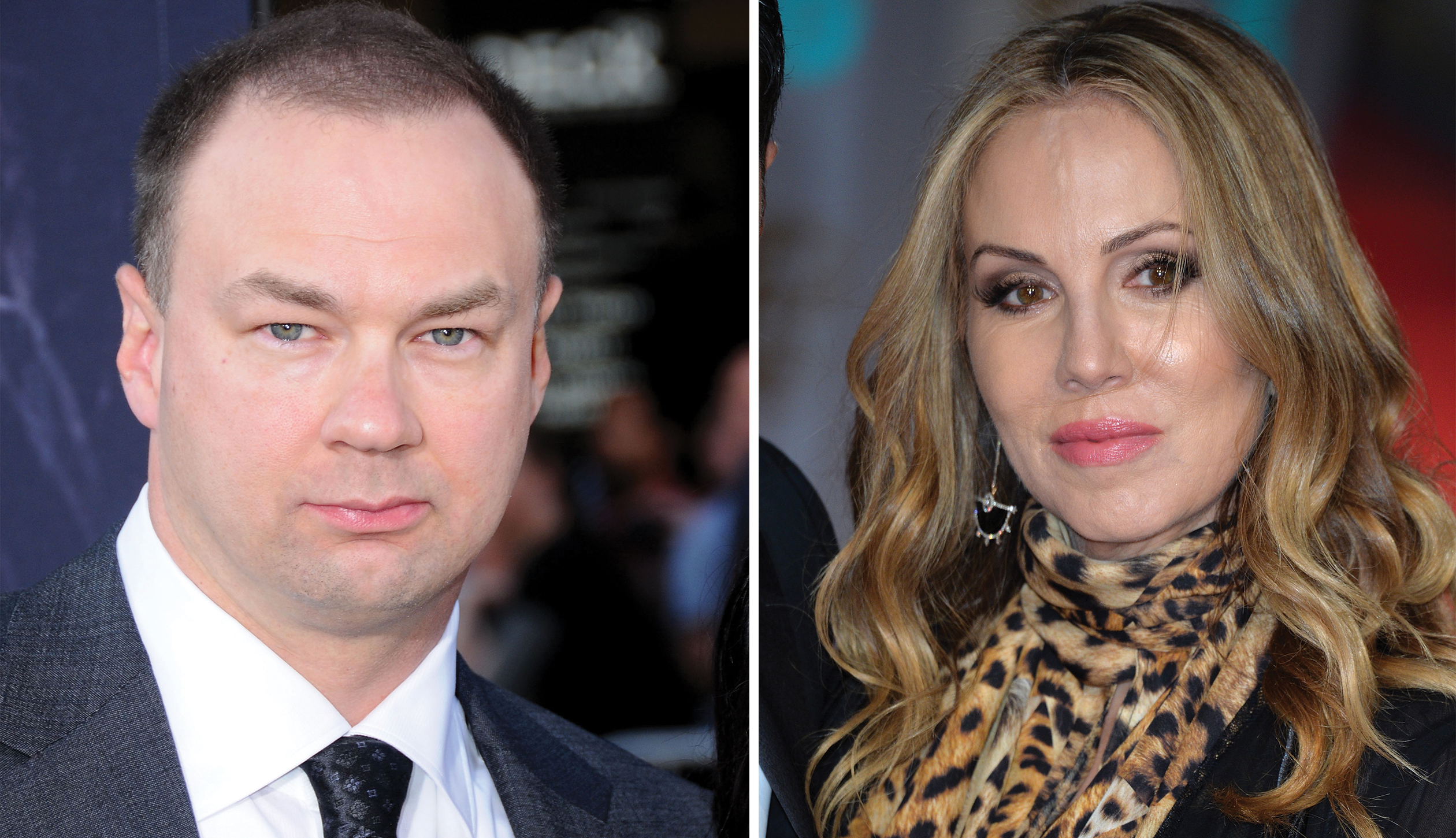 Thomas Tull (l) and Mary Parent (r)