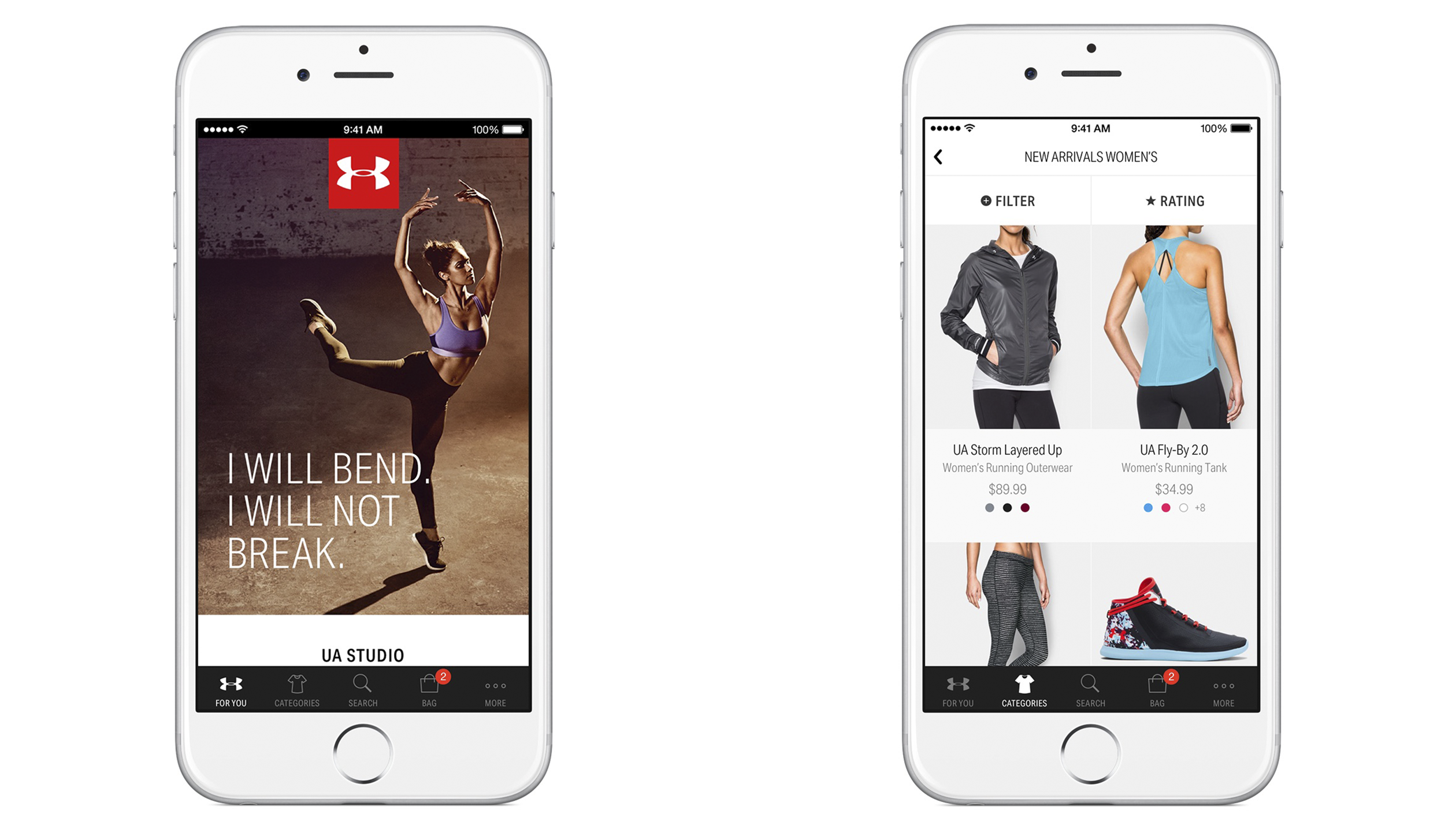 under armour us website