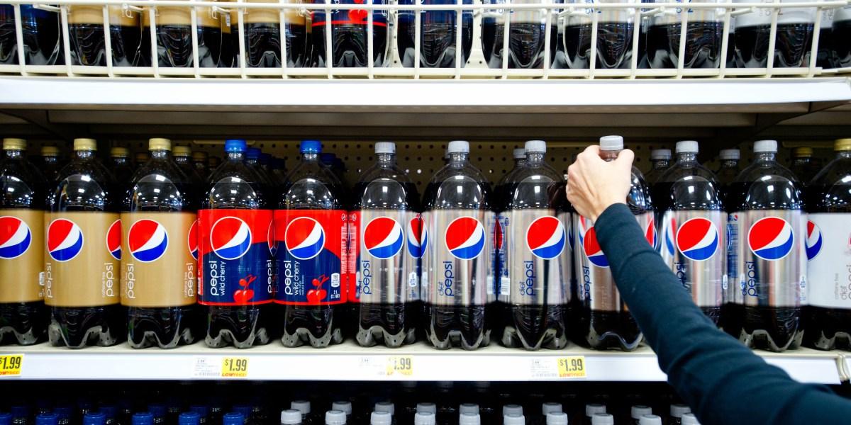 why did diet pepsi stop using aspartame