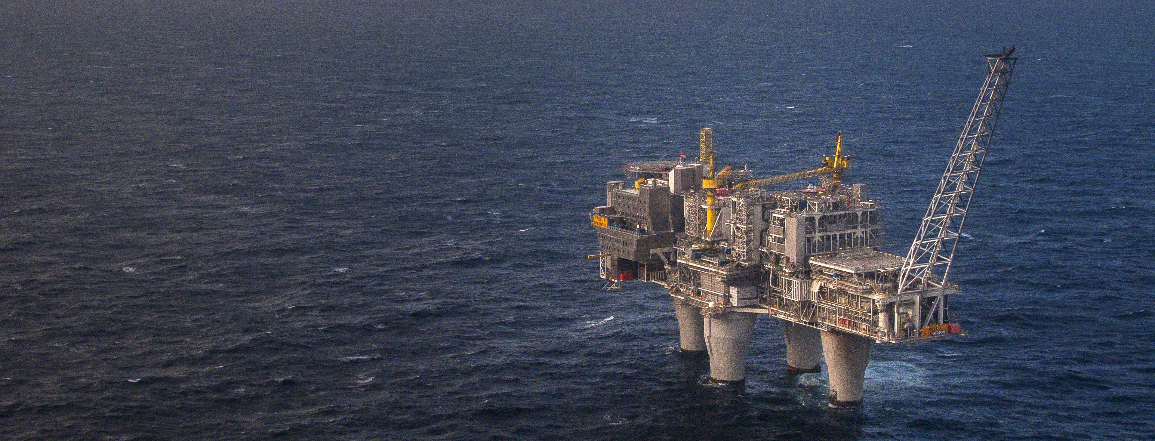 Statoil ASA's Troll A Gas Platform
