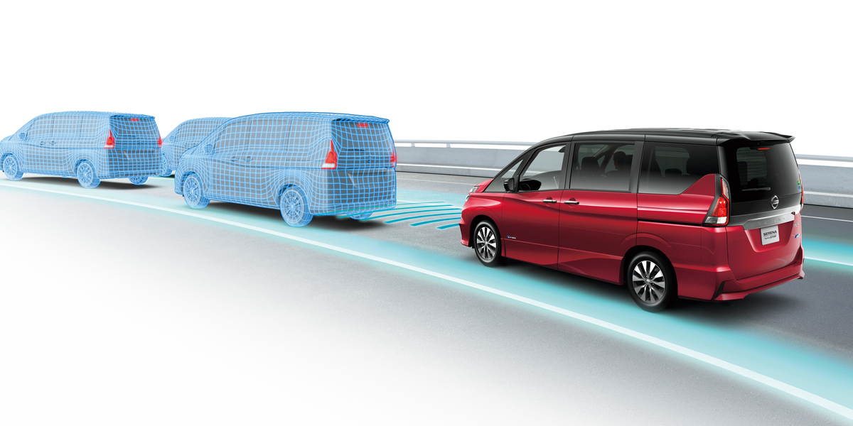 Nissan will introduce a semi-autonomous driving system in its new Serena minivan next month.