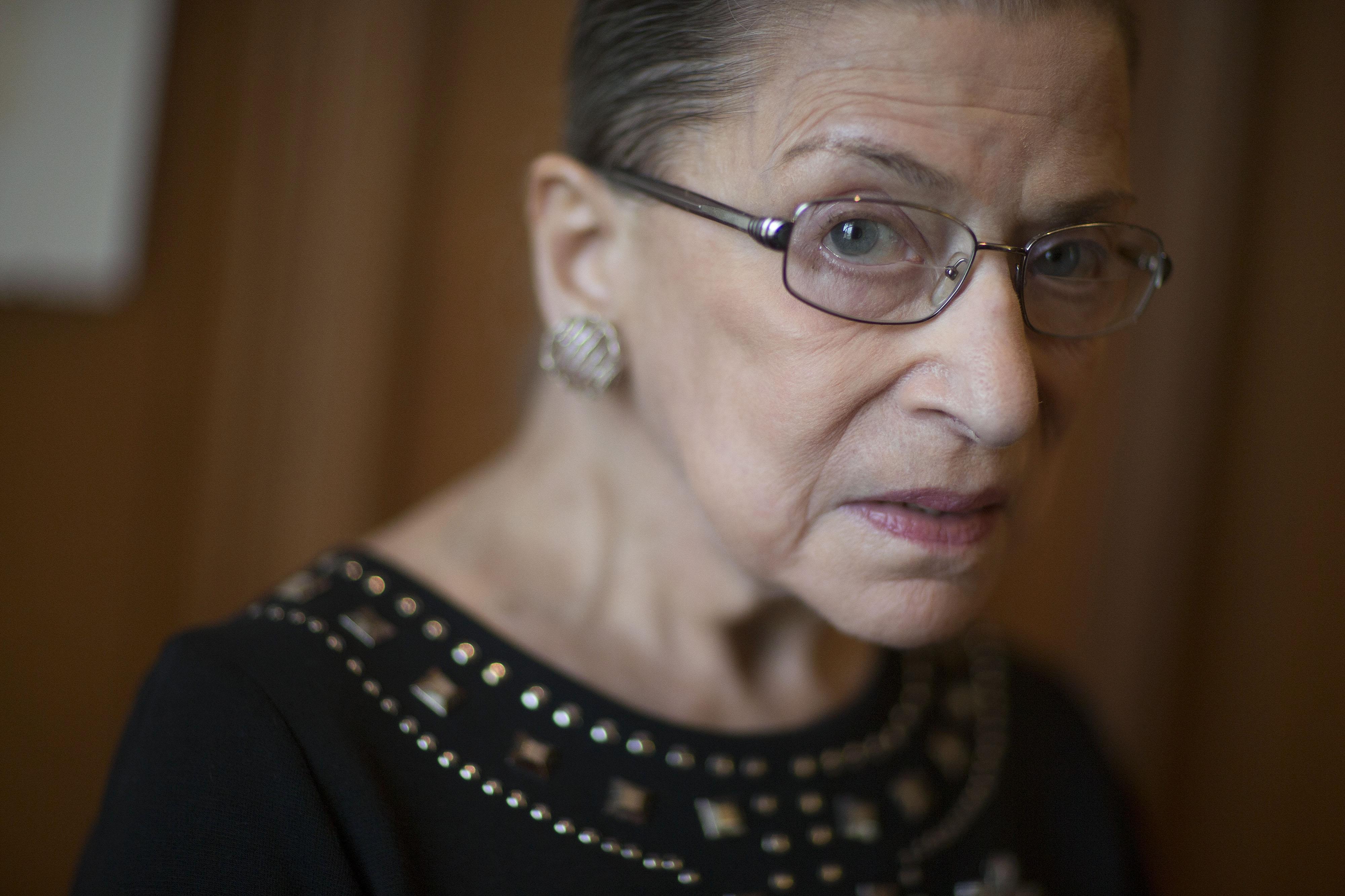 U.S. Supreme Court Associate Justice Ruth Bader Ginsburg Interview