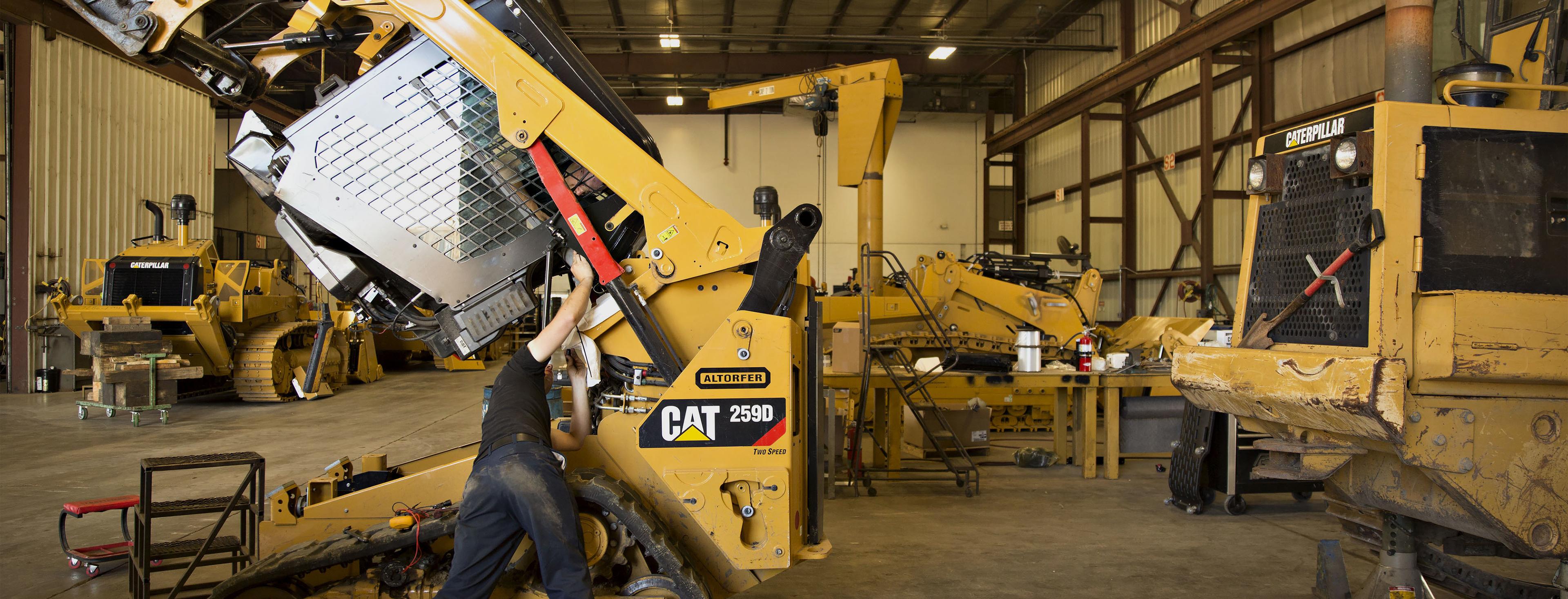 A Caterpillar Inc. Equipment Dealer Ahead Of Earnings