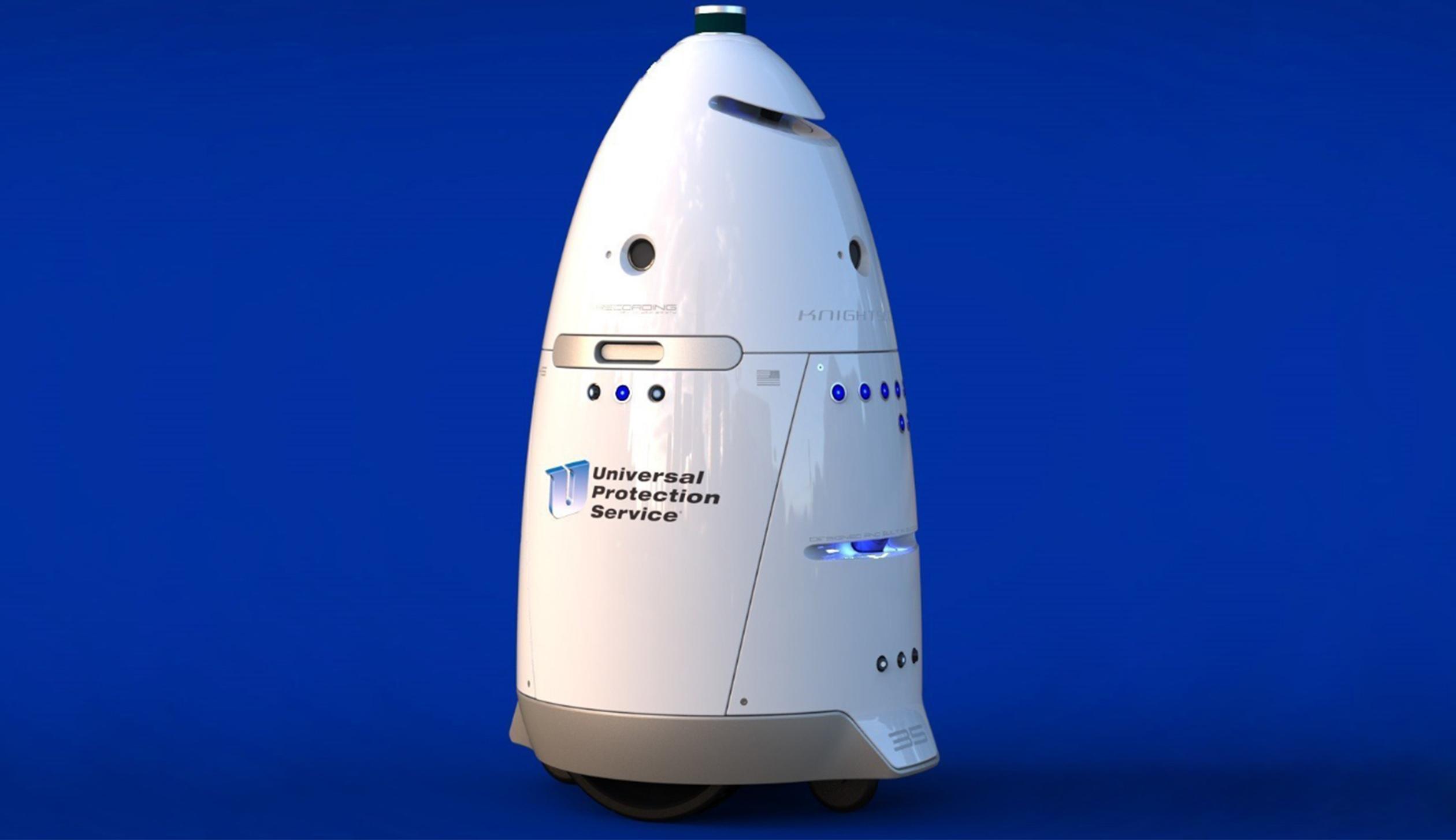 Universal Protection Service K5 autonomous robot model
