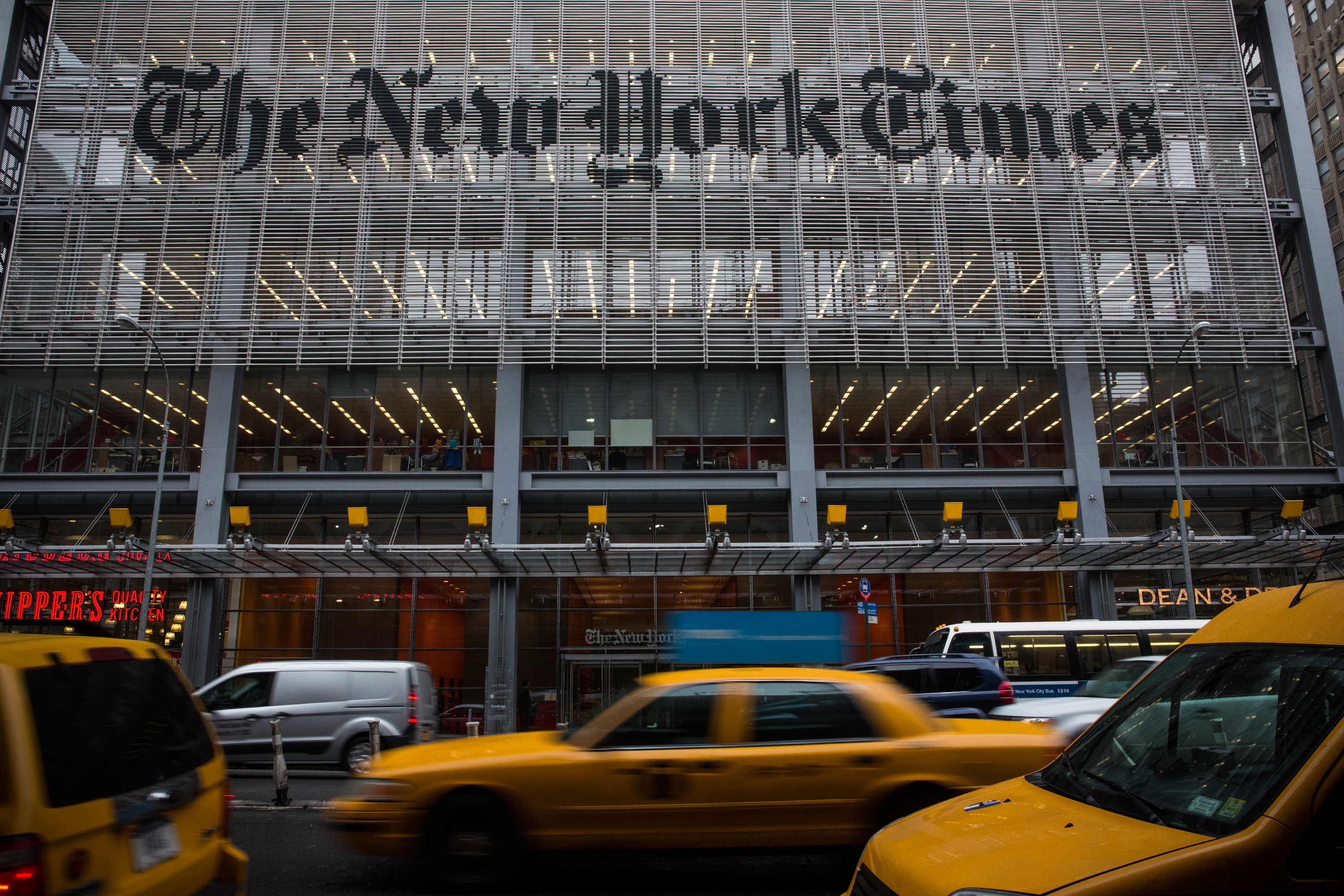 The New York Times Announces Cuts To Newsroom Staff