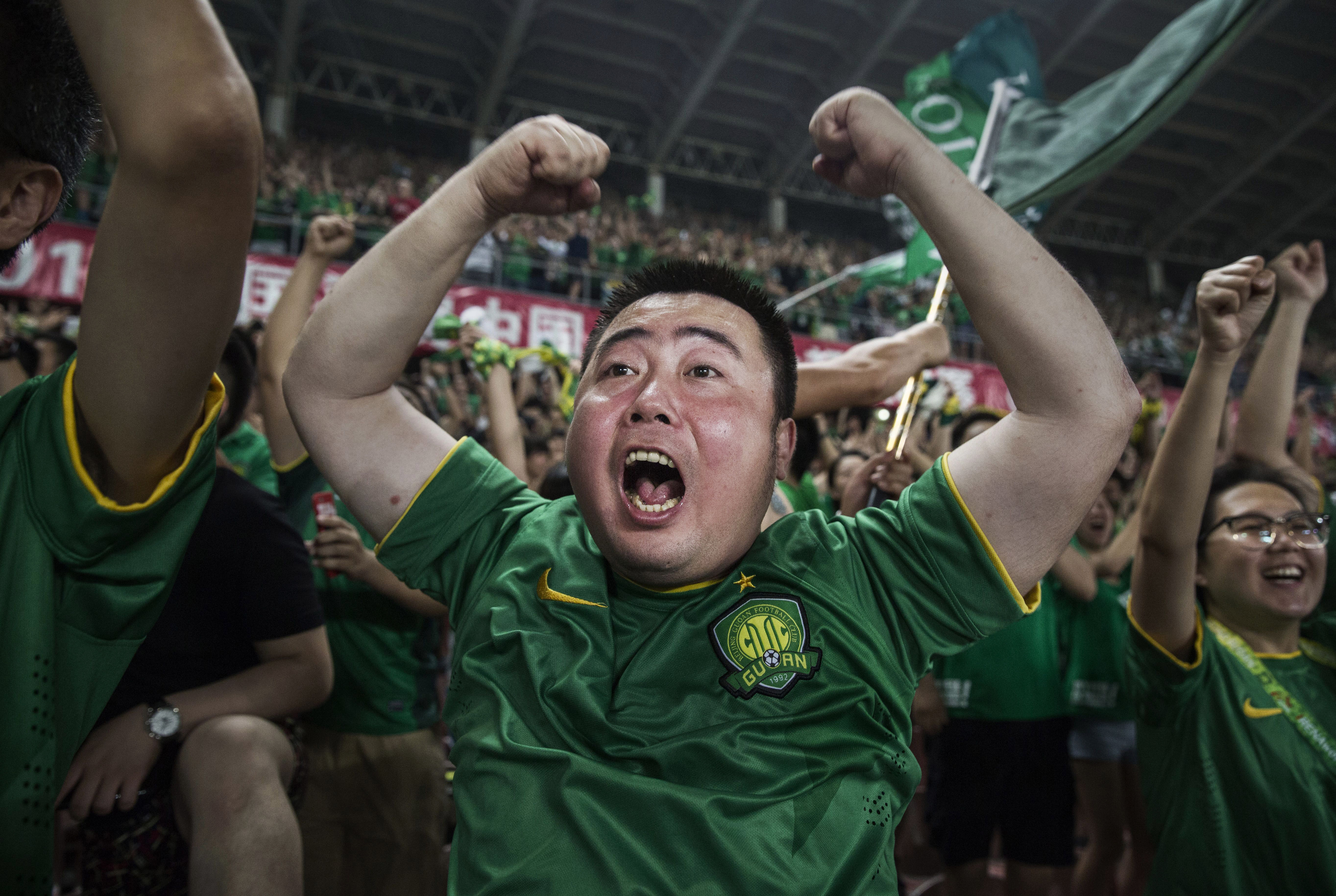 Beijing's Ultras A Part Of Growing Football Culture In China