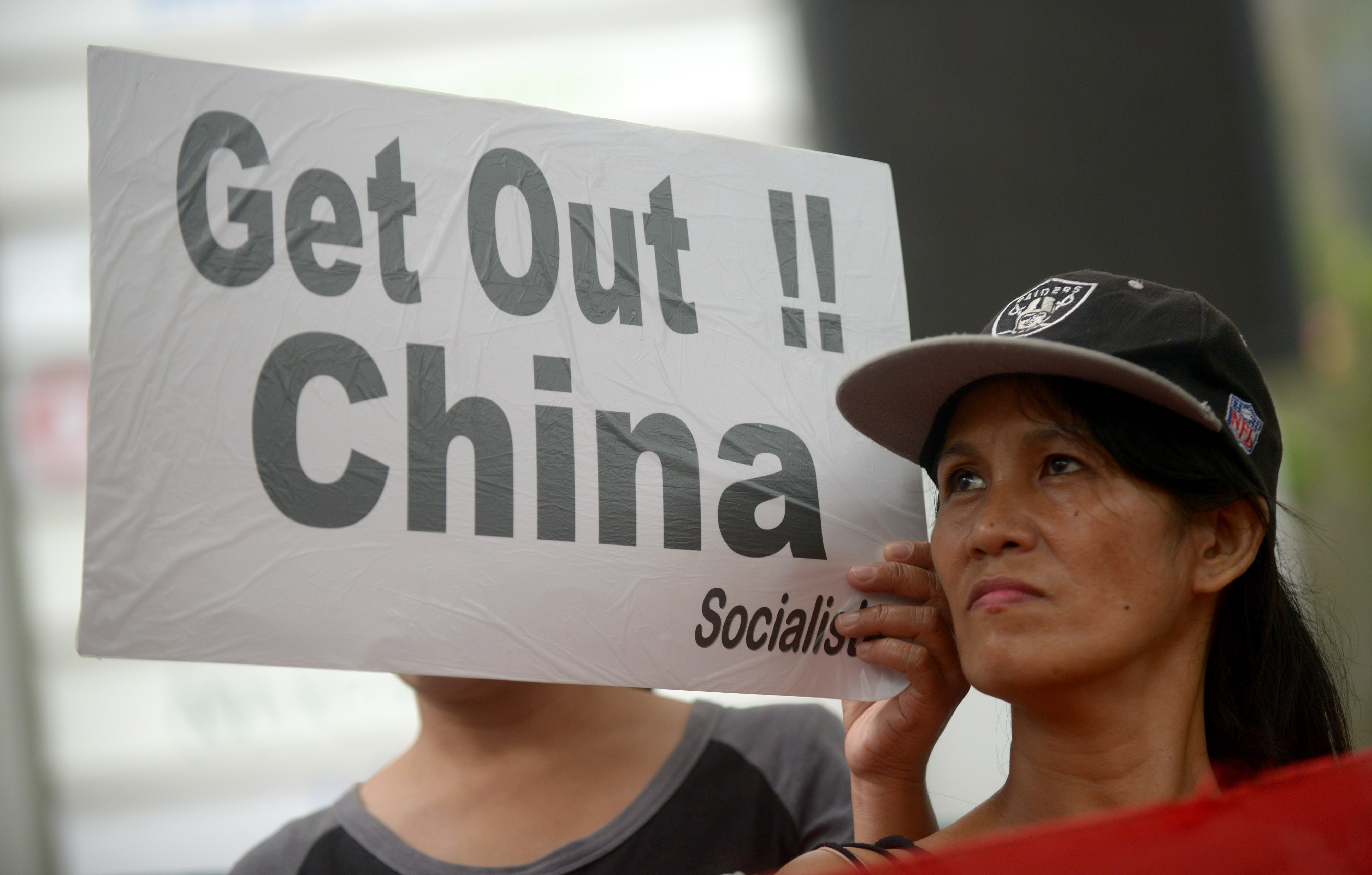 PHILIPPINES-CHINA-MARITIME-UN-DIPLOMACY-PROTEST
