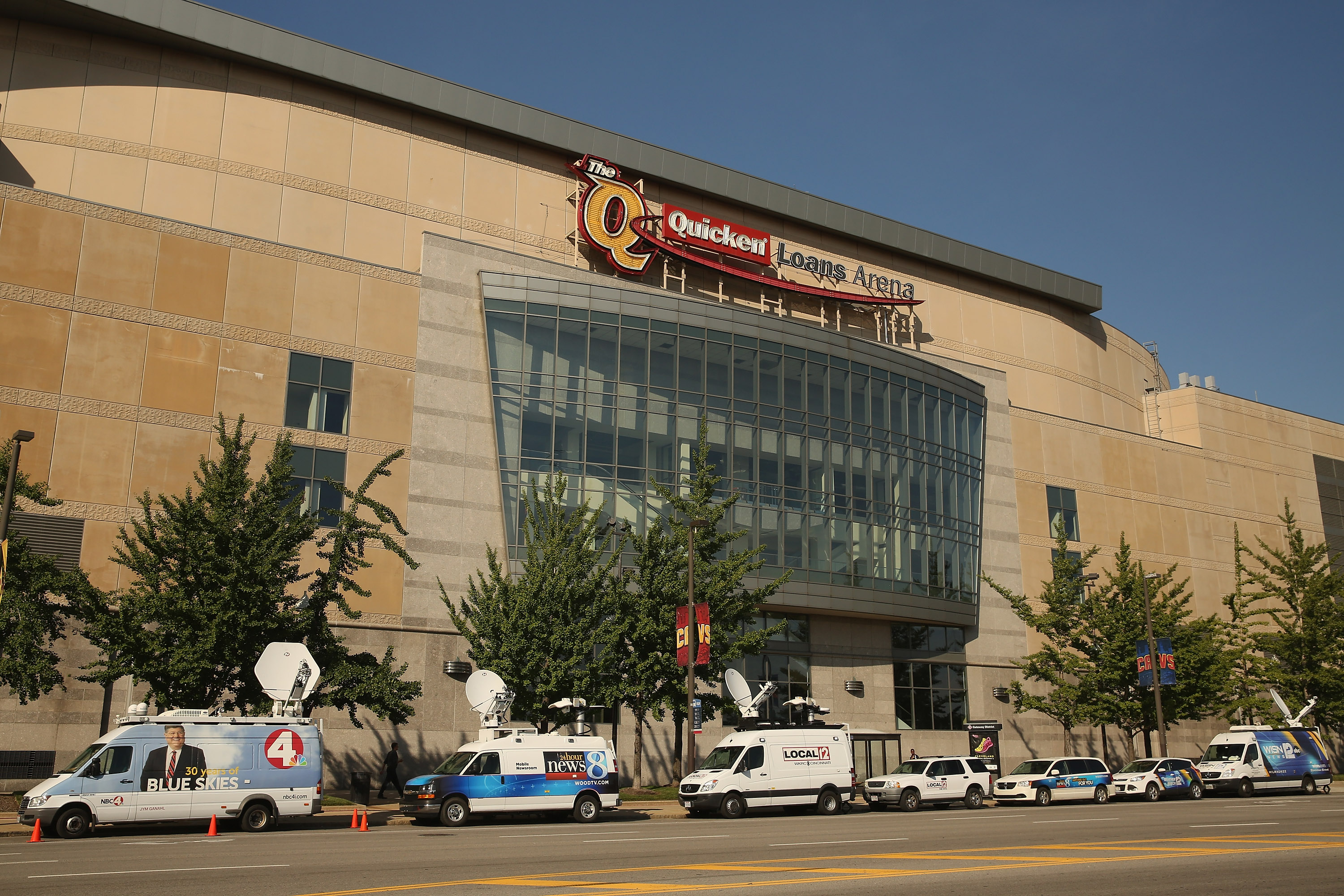 Cleveland Prepares For First Republican Presidential Debate Of 2016 Election